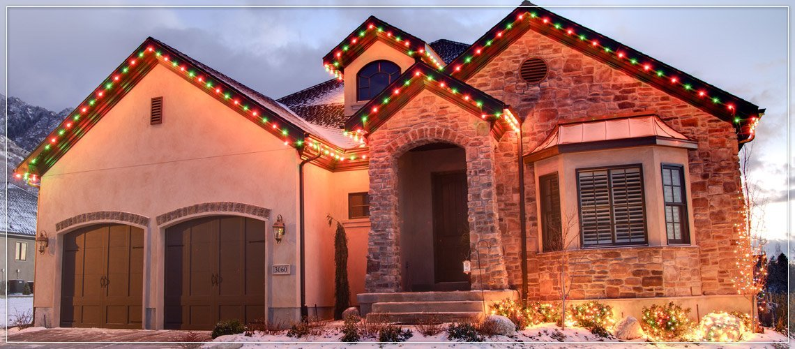house christmas lights outdoor lights ideas for the roof 13095