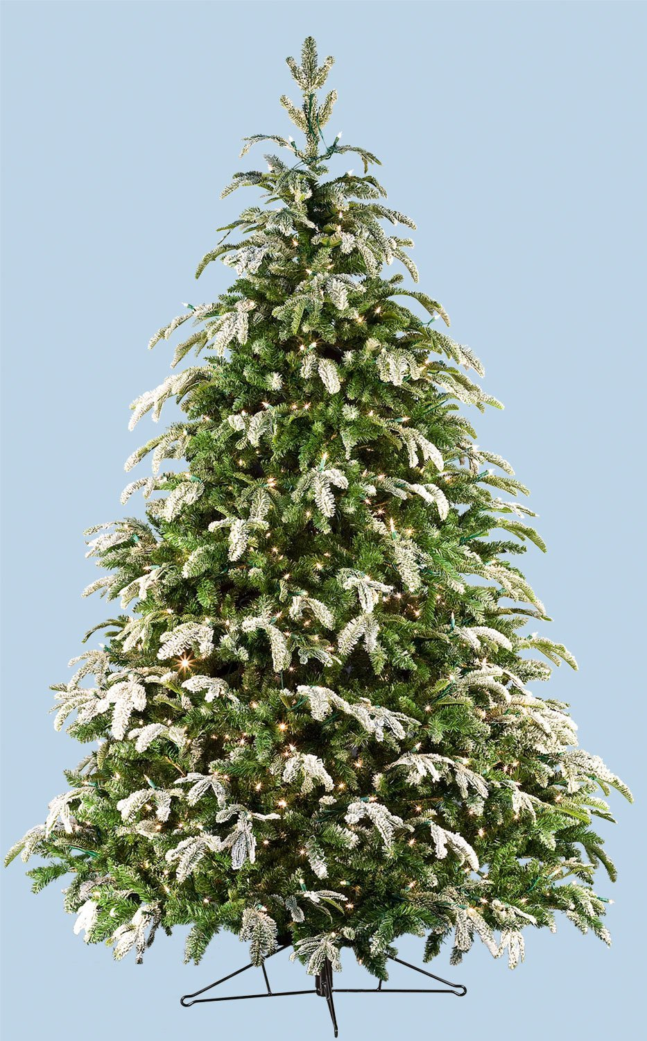 Artificial Fraser Fir Christmas Trees Flocked Fraser Fir Prelit Tree