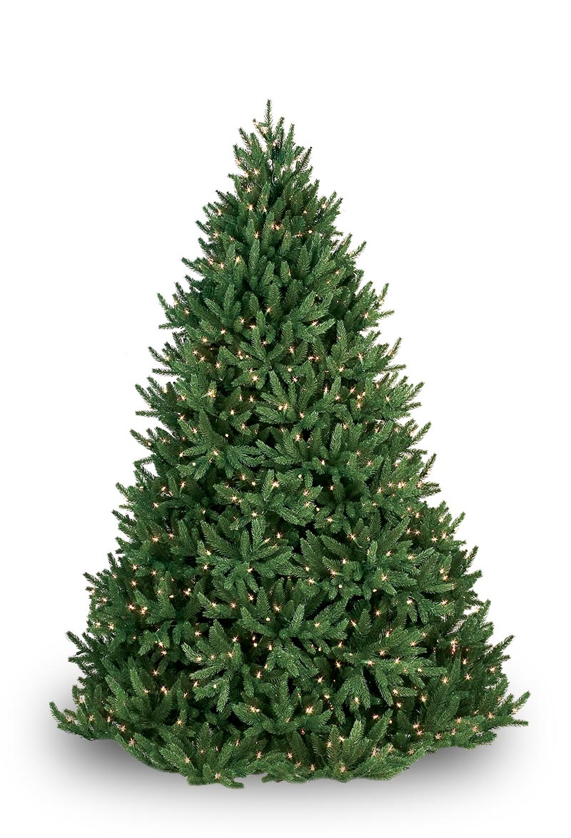 Noble Fir Prelit Tree