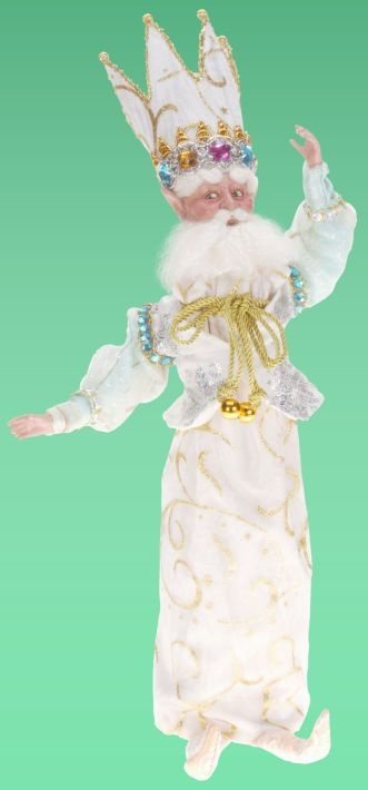 Winter wonderland fairy wine bottle cover
