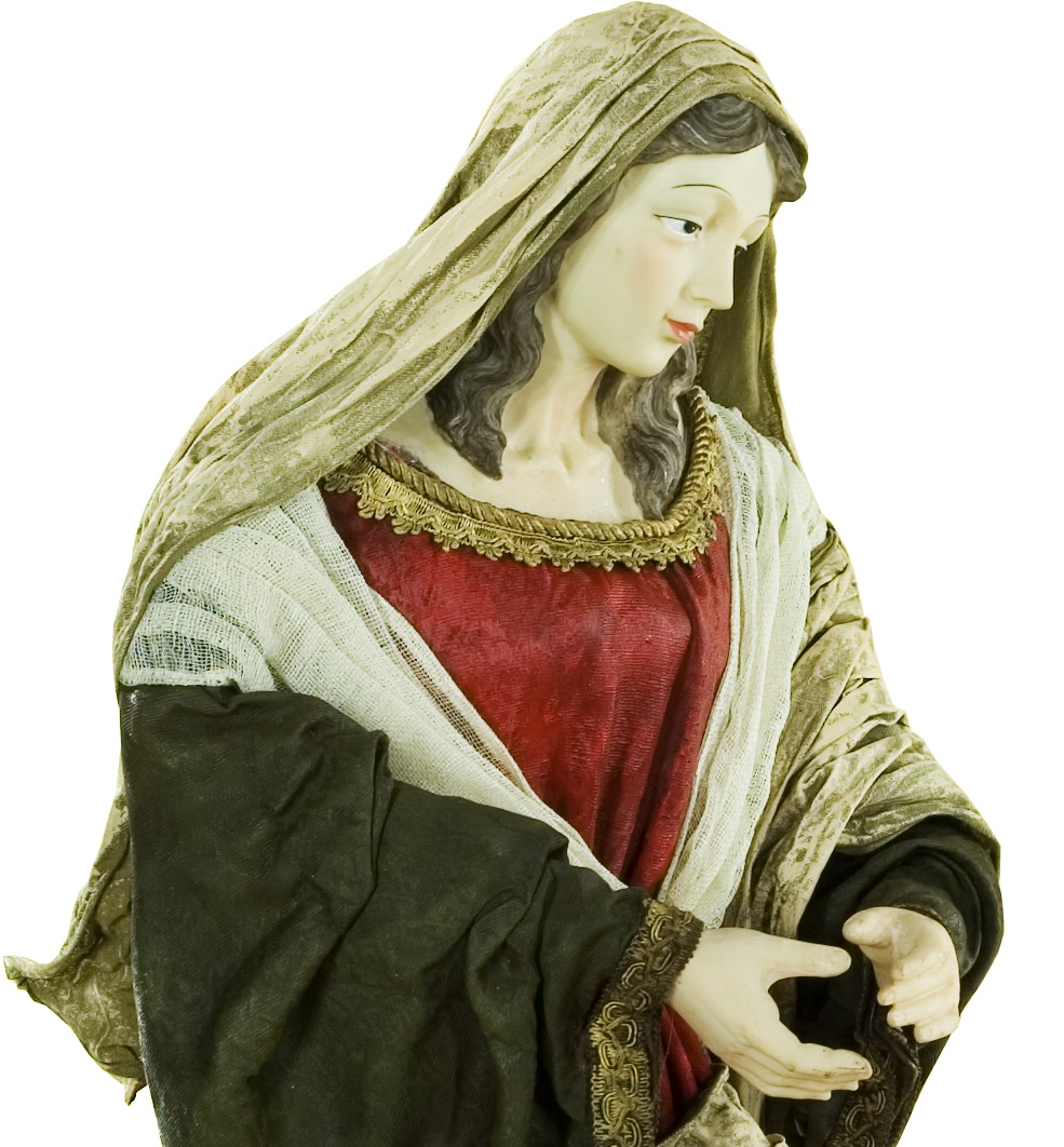 Mary Nativity Figure