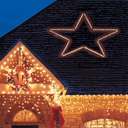 Snowflakes Amp Stars 8 5 Giant Led Folding 5 Point Star