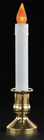 LED Flickering Candle with Sensor