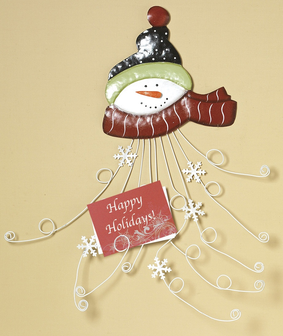 Snowman Card Holder Version 1