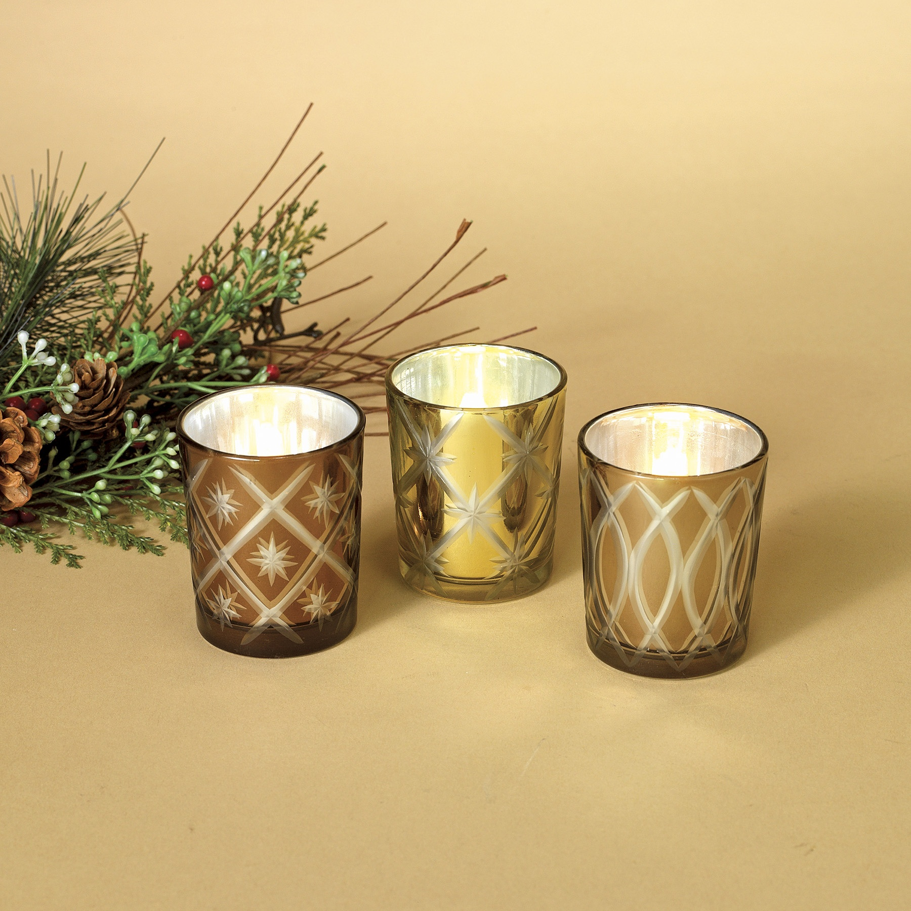 Golden Votive Set