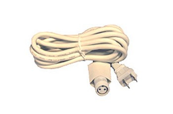White Golden Canopy Power Cord