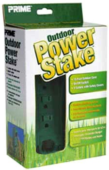 Outdoor Power Stake