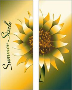 Summer Sizzle Sunflower Banner