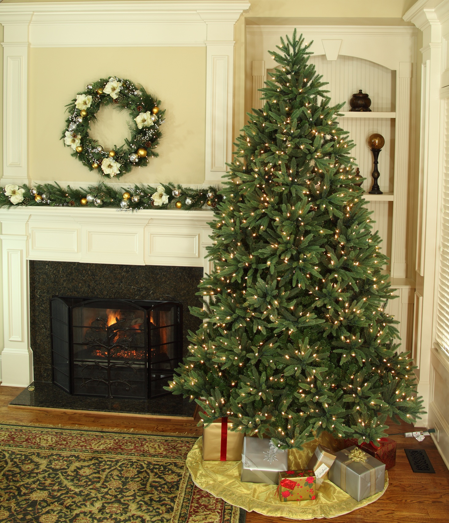 Noble Fir Prelit Christmas Tree