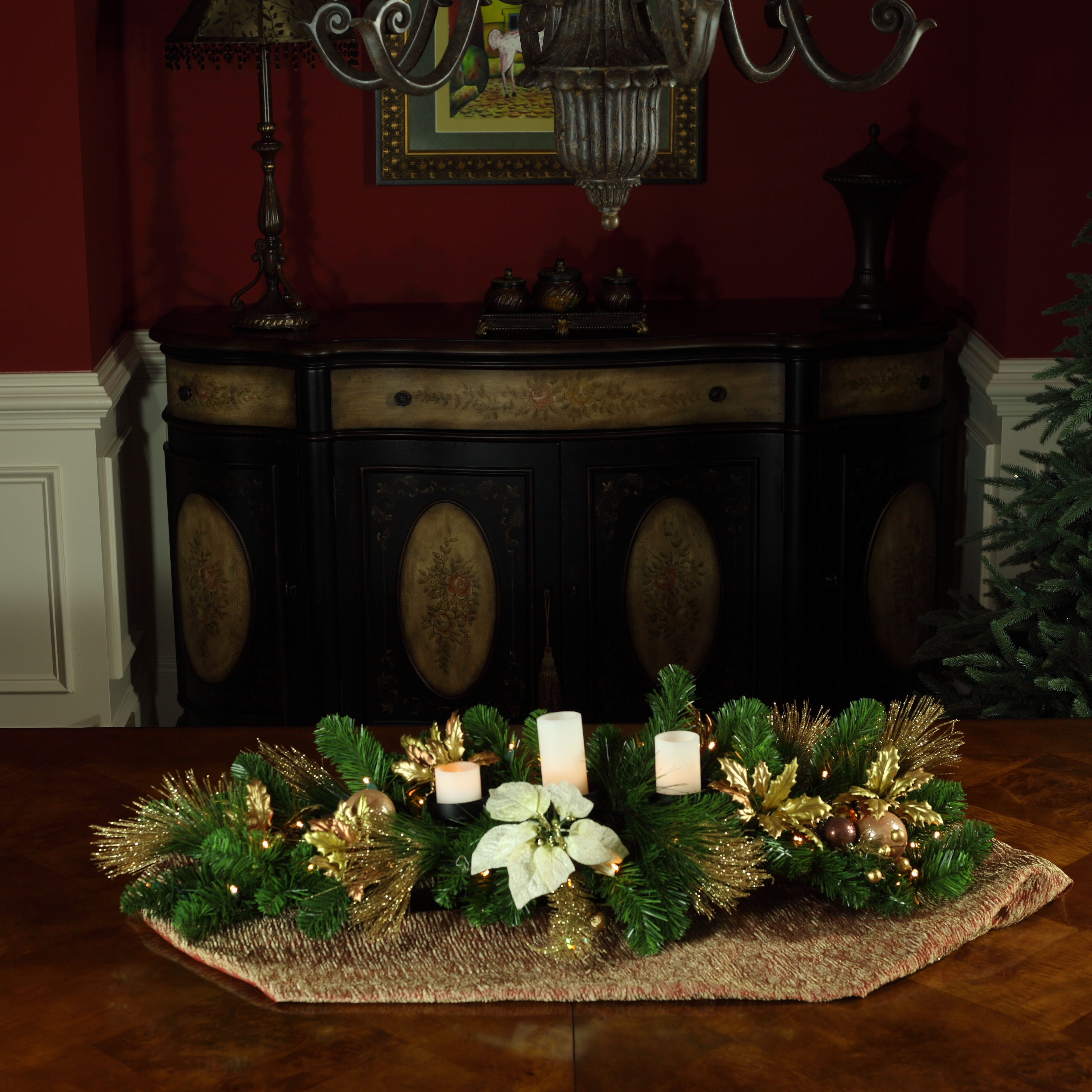 Centerpieces and Candle Holders
