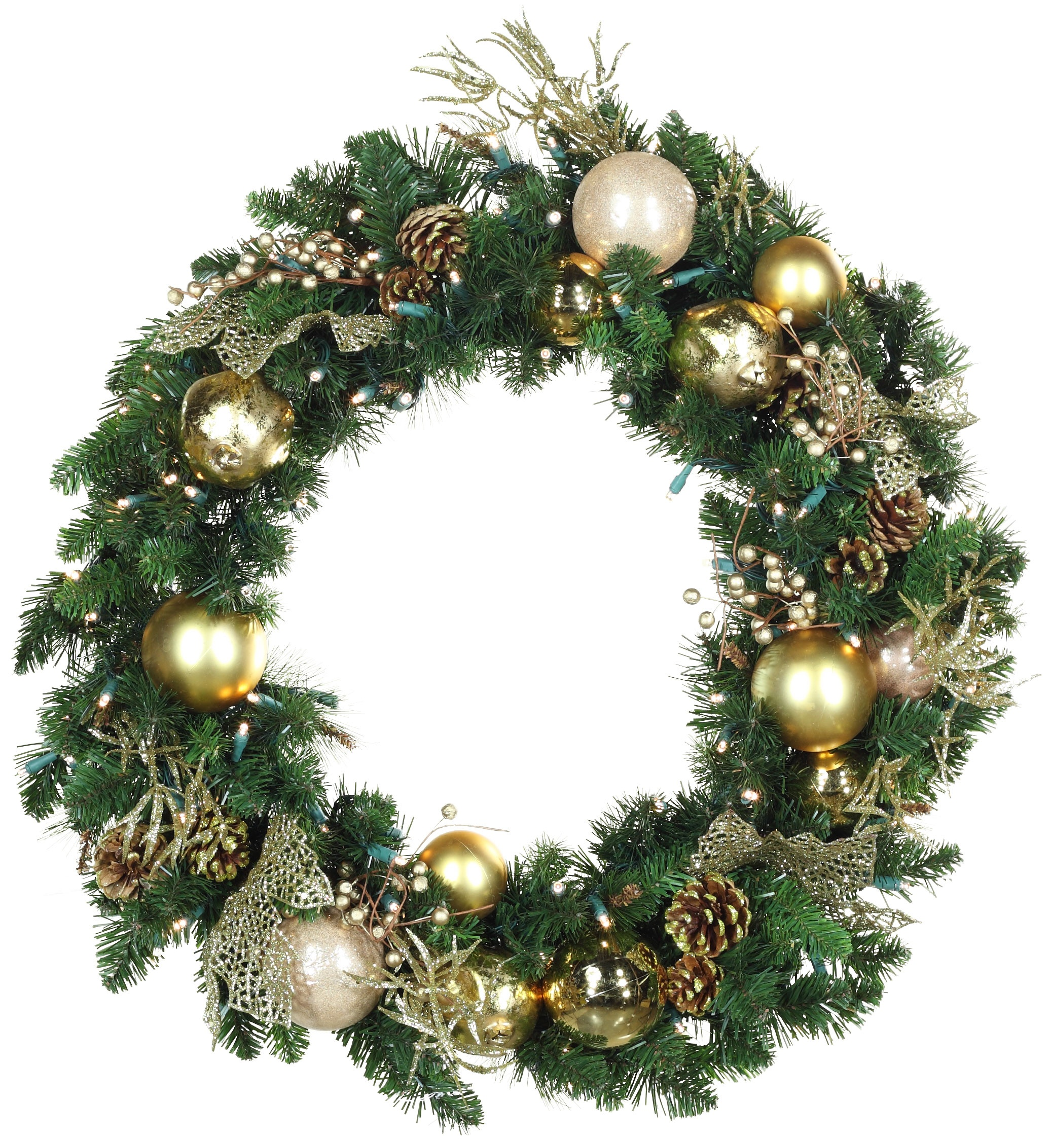 Decorated christmas wreaths Christmas wreath decorations