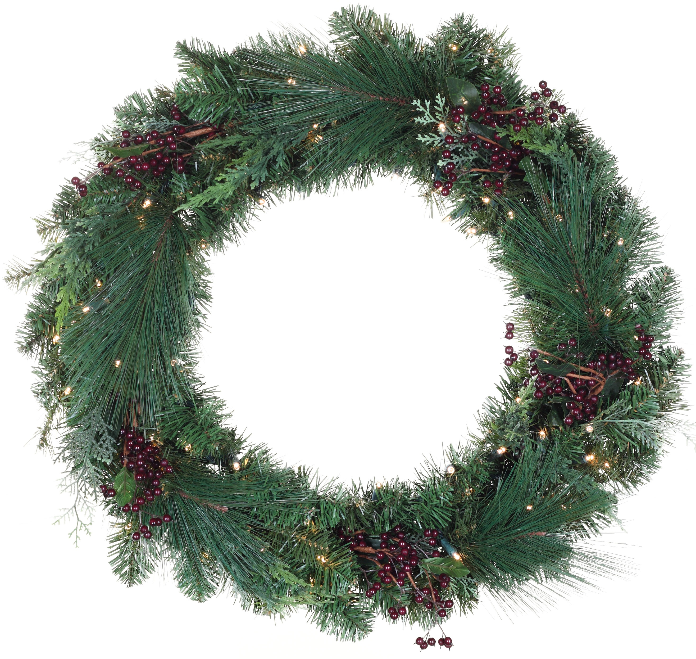 Savannah Battery Operated LED Wreath