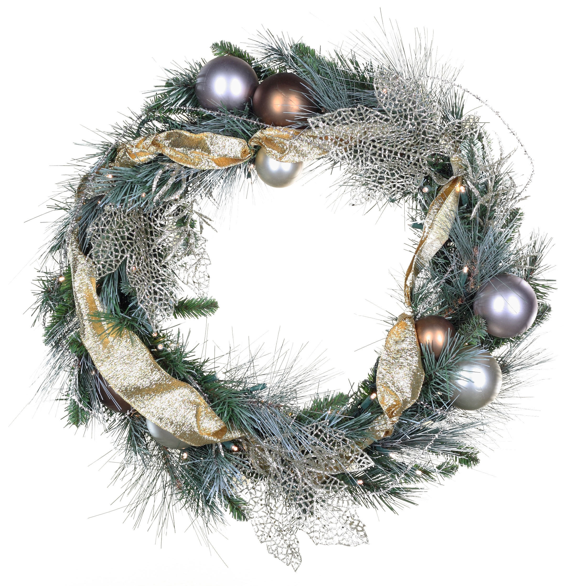 Scotch Mixed Pine Decorated Wreath