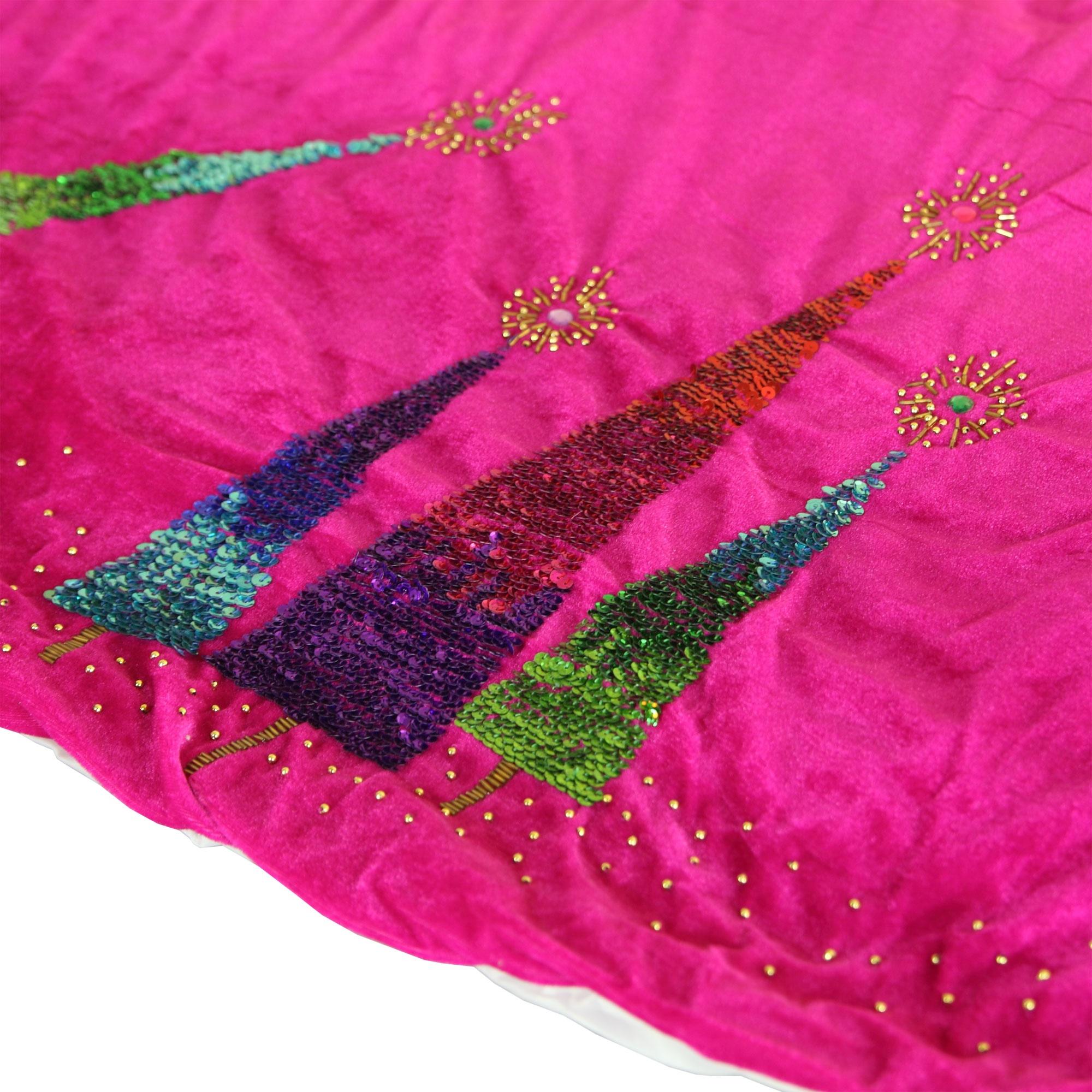 Tree Skirt Pink 102