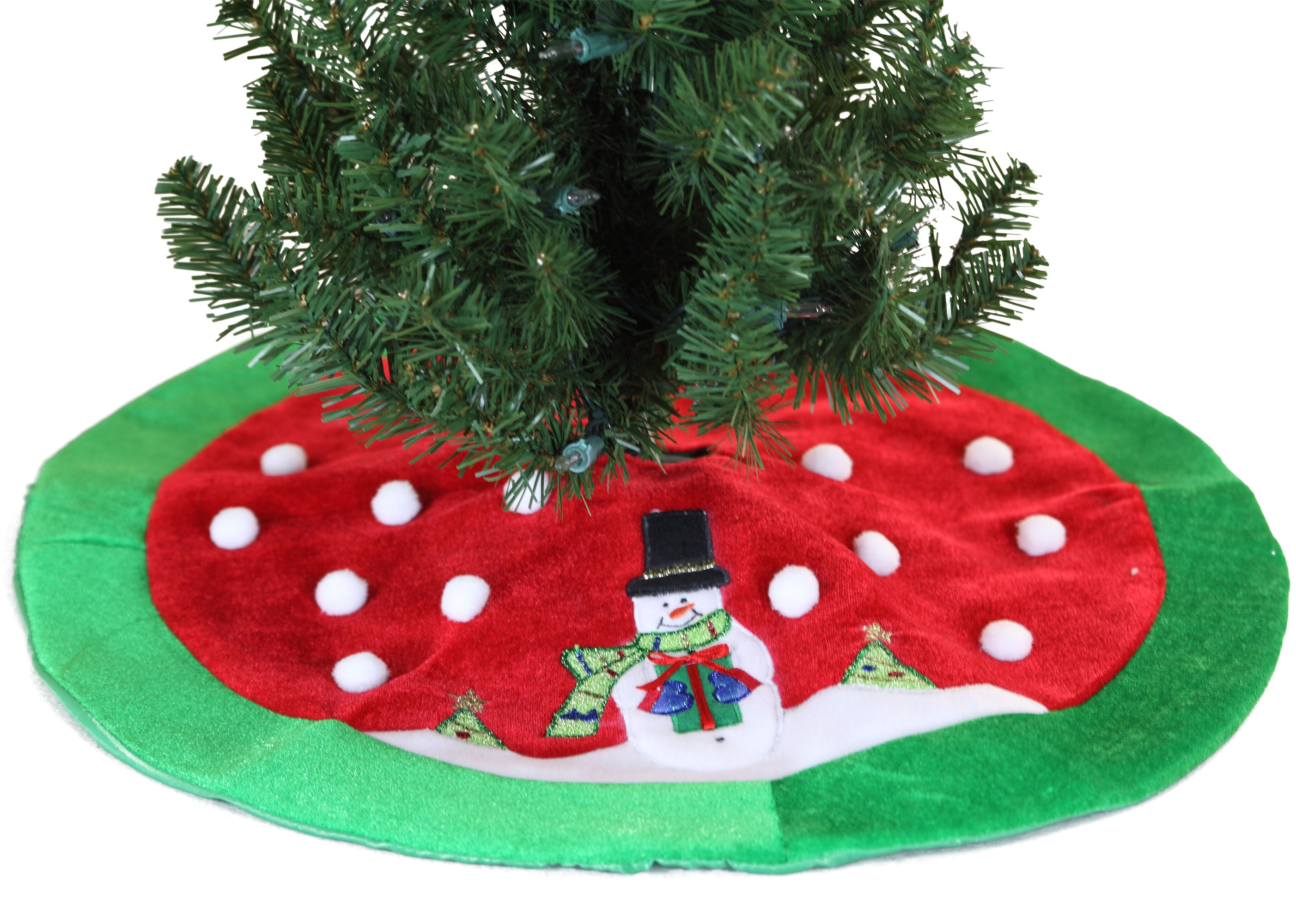 Snowman Mini Tree Skirt