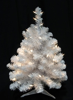 White Crystal Small Tree