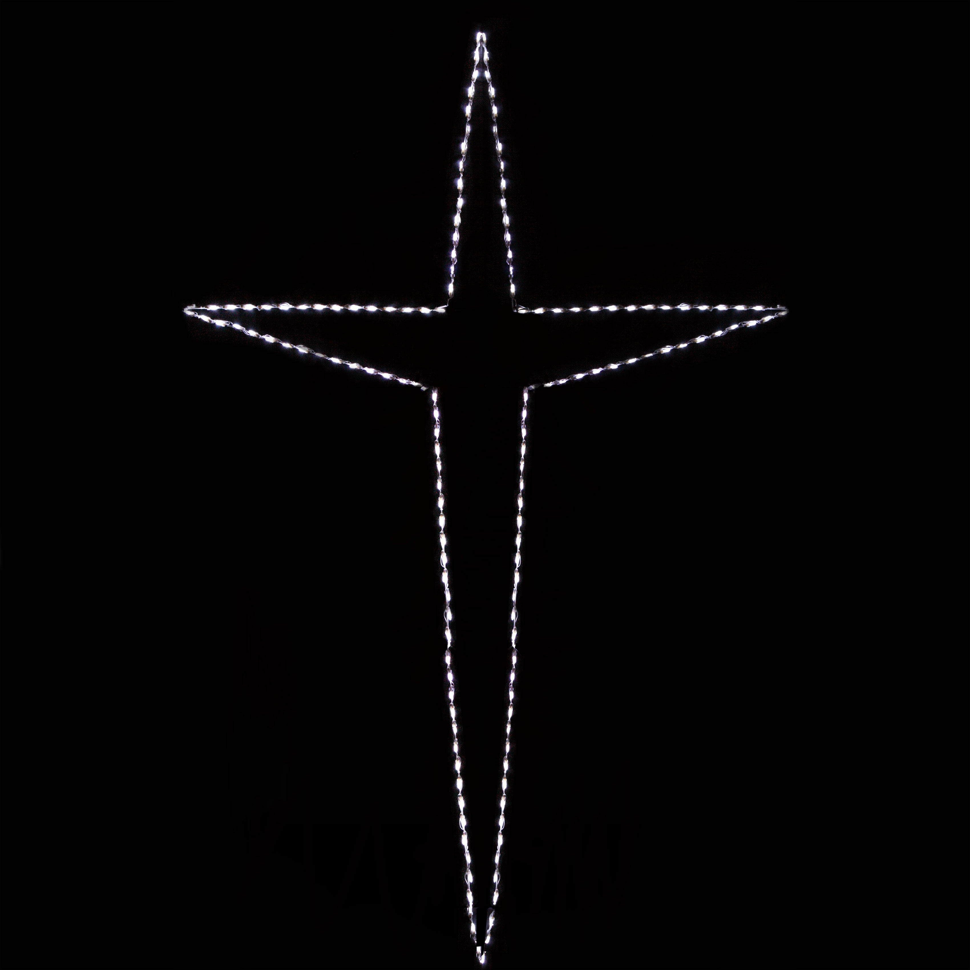 LED giant Bethlehem star motif