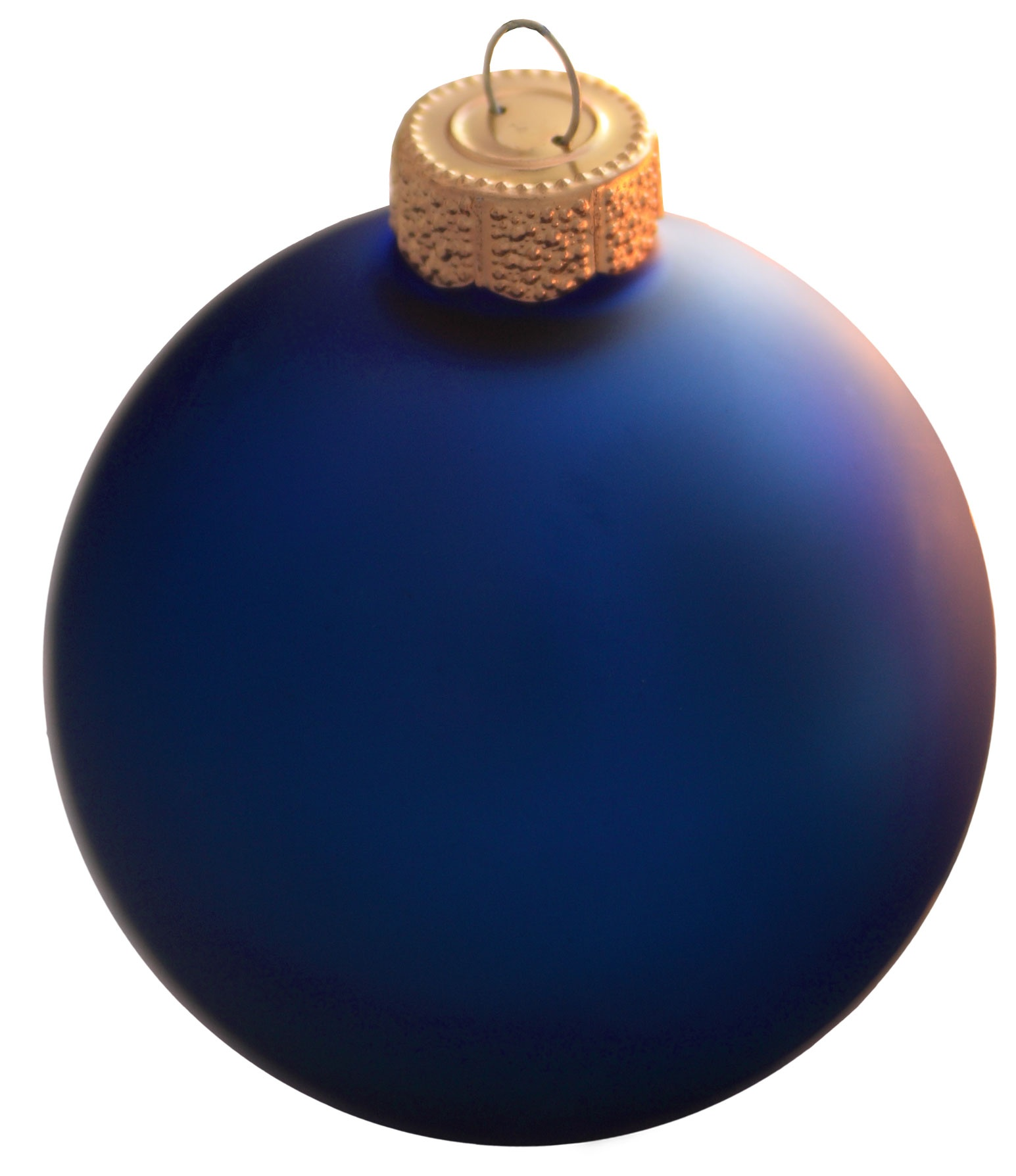 "Christmas Decorations - 1.25"" Cobalt Blue Ball Ornament ..."