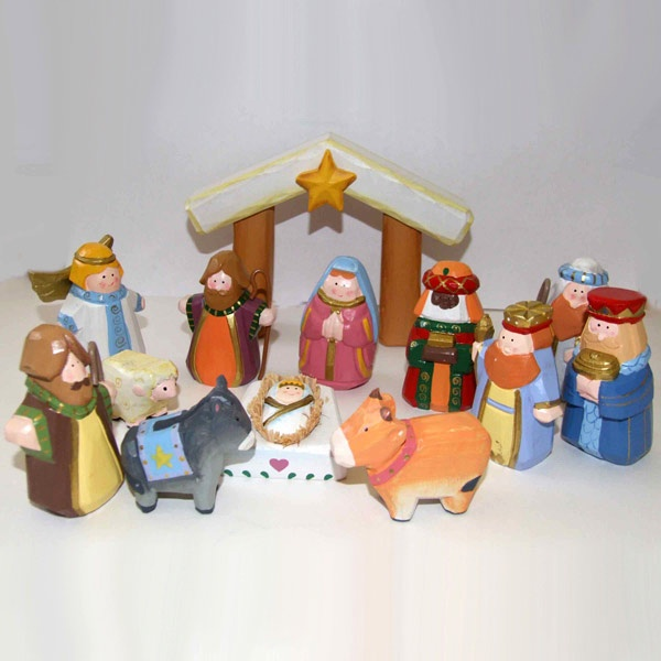 kids nativity set