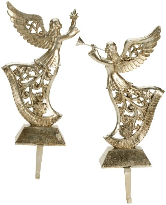angel stocking holder