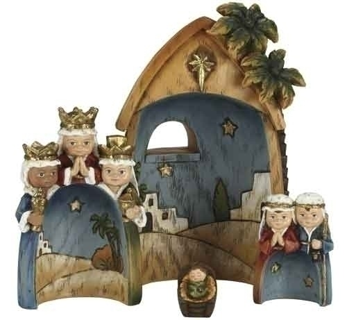 children nativity set