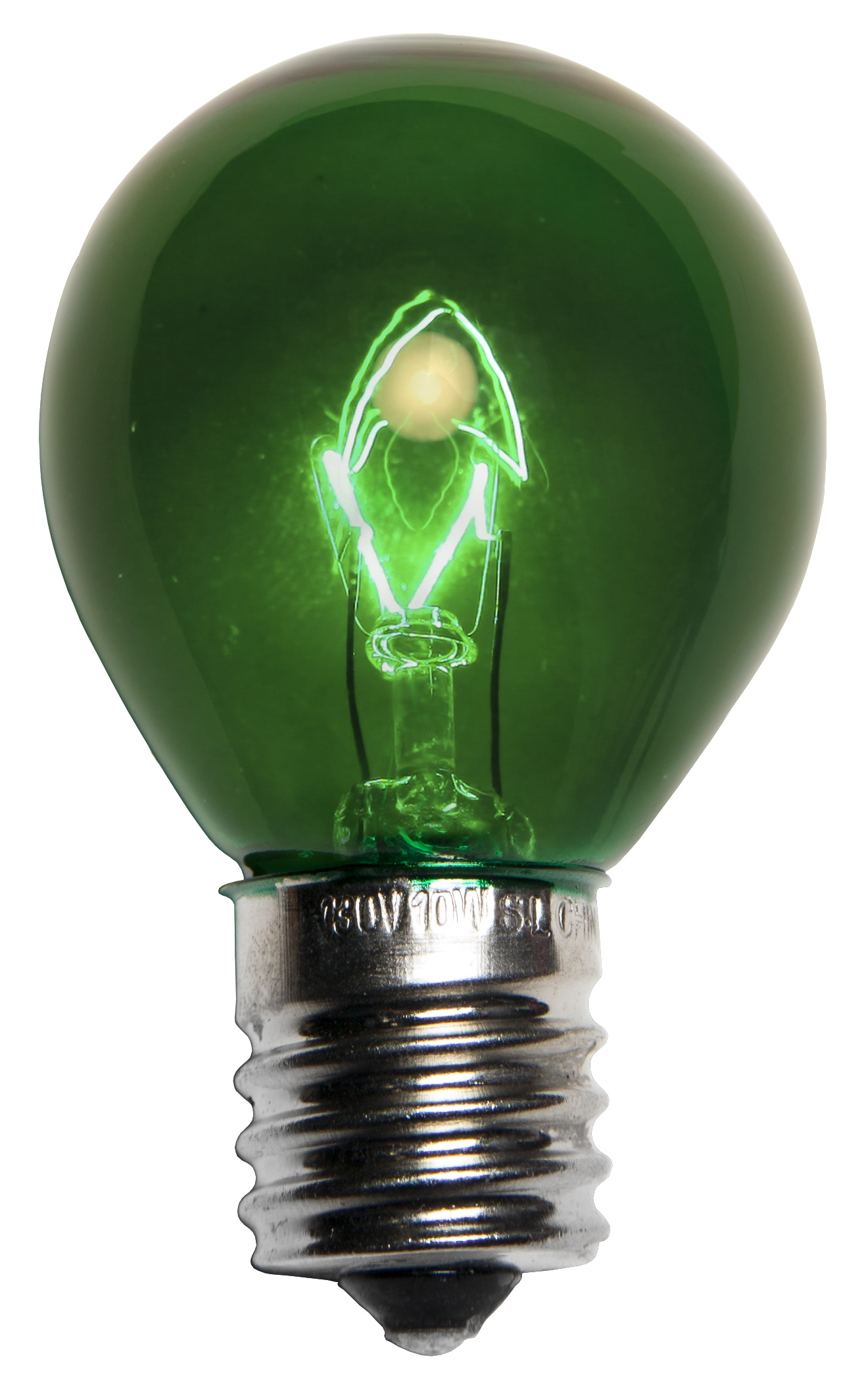 Green Sign Lamp E17 Bulb