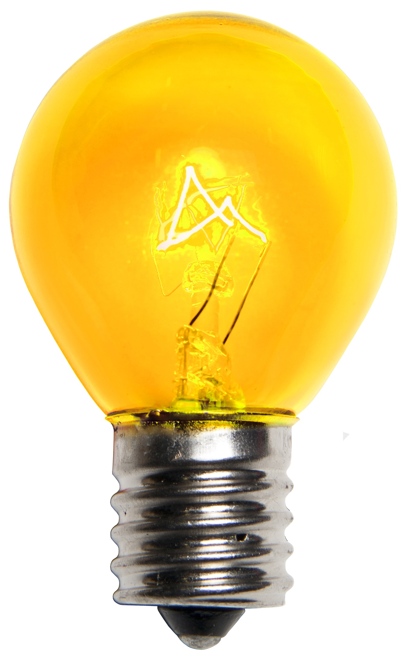 Yellow Sign Lamp Bulb