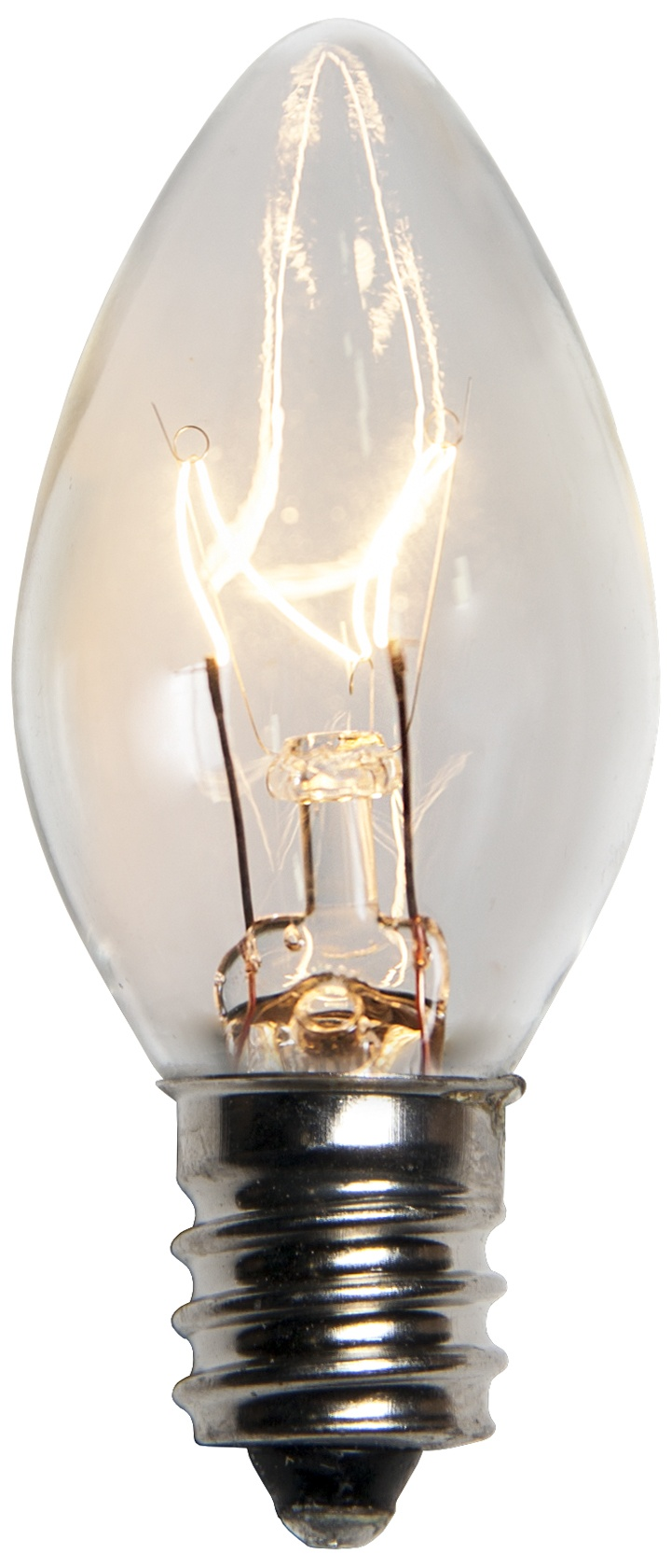 C7 Clear Transparent Incandescent Bulb