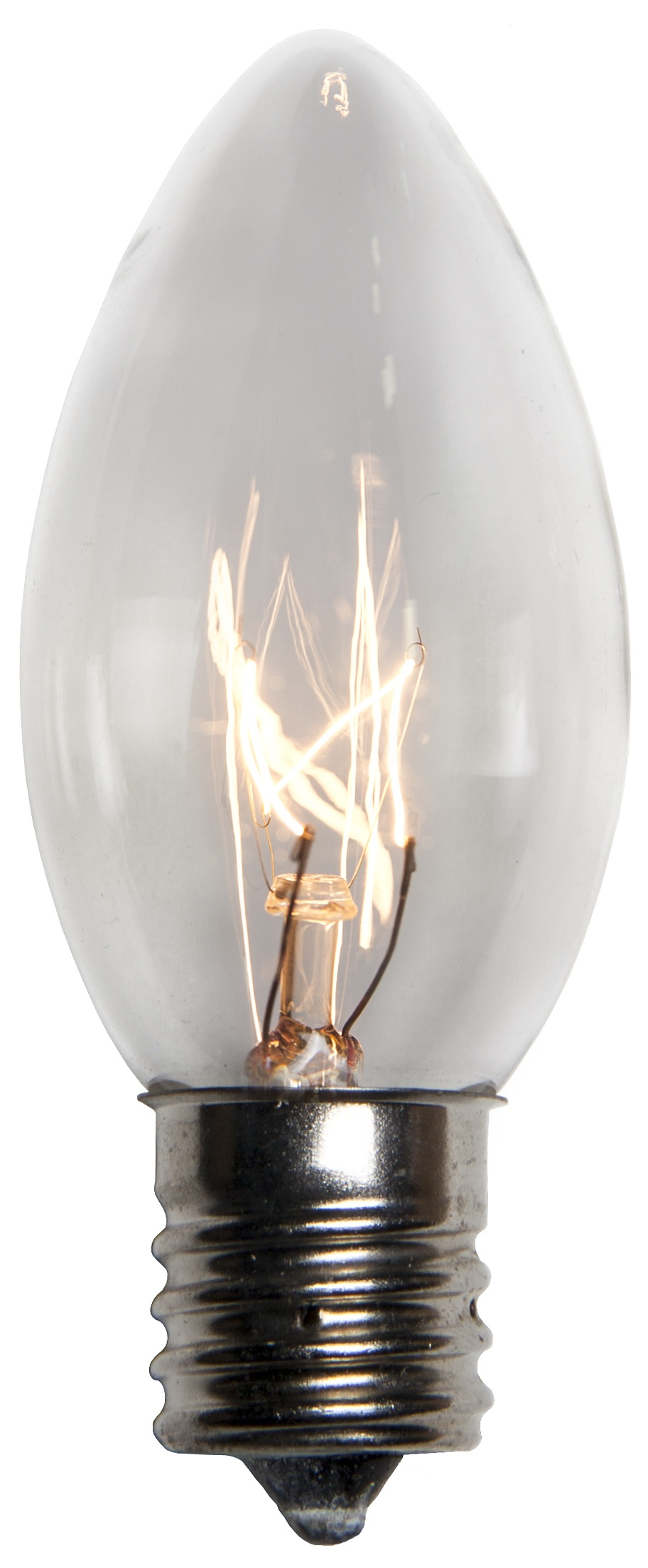 C9 Clear Transparent Incandescent Bulb