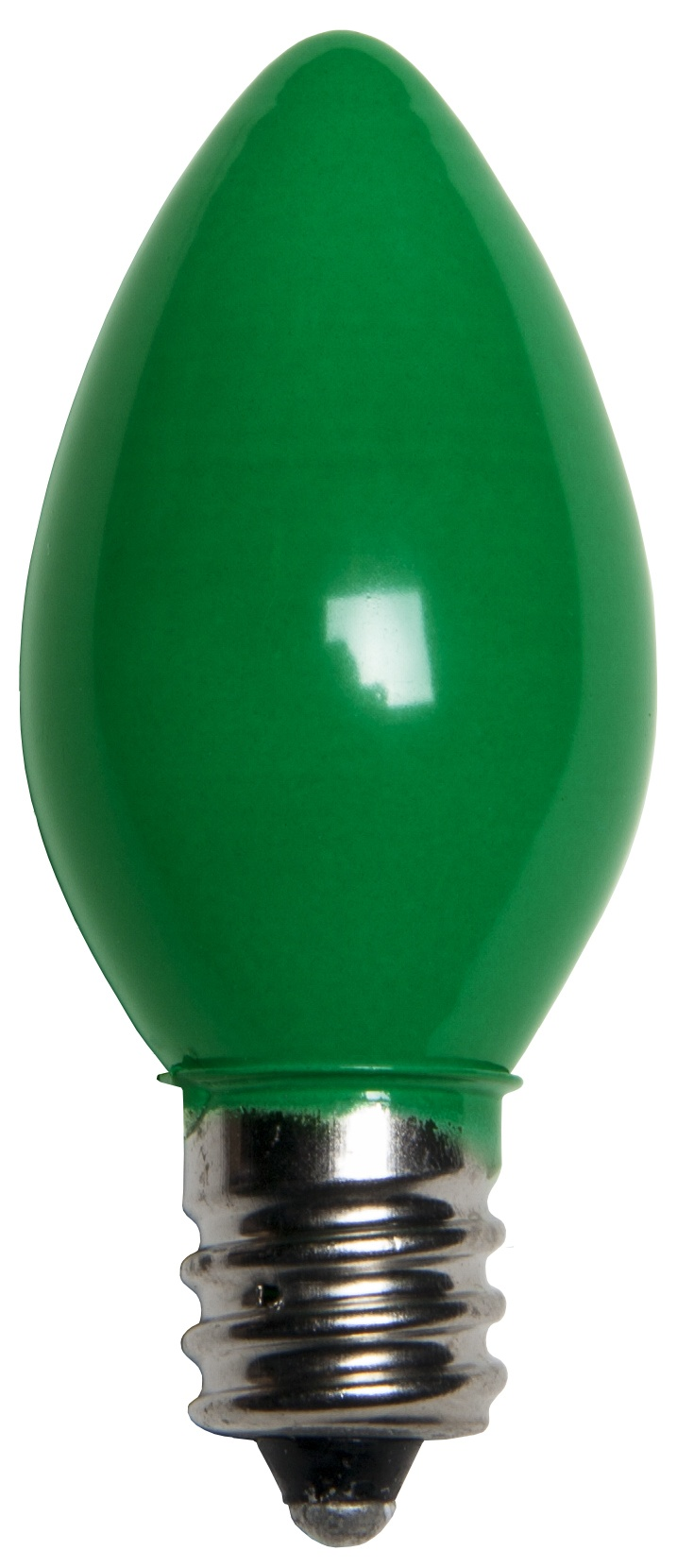 C7 Christmas Light Bulb C7 Green Christmas Light Bulbs