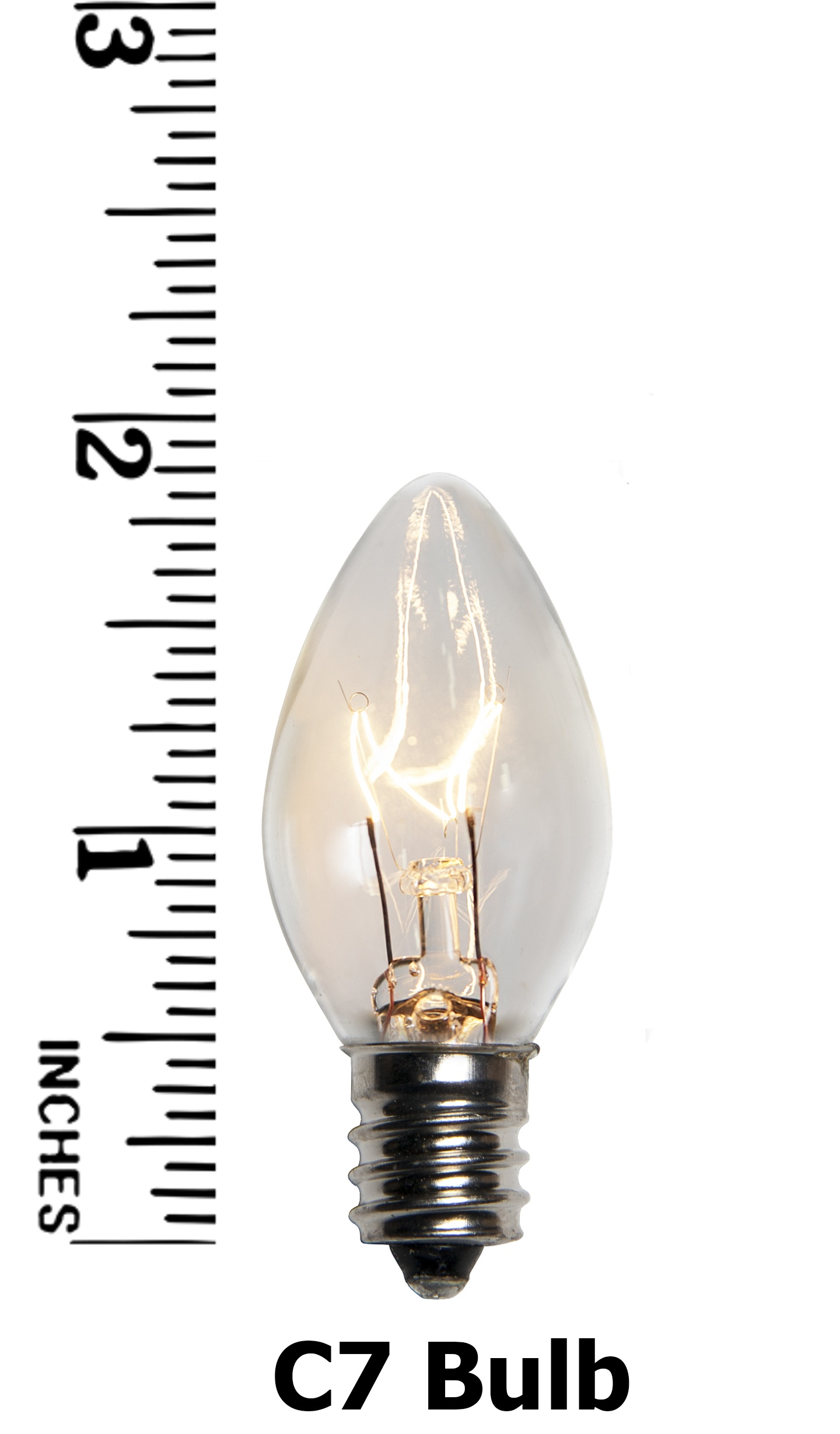 C7 Clear Incandescent Bulb