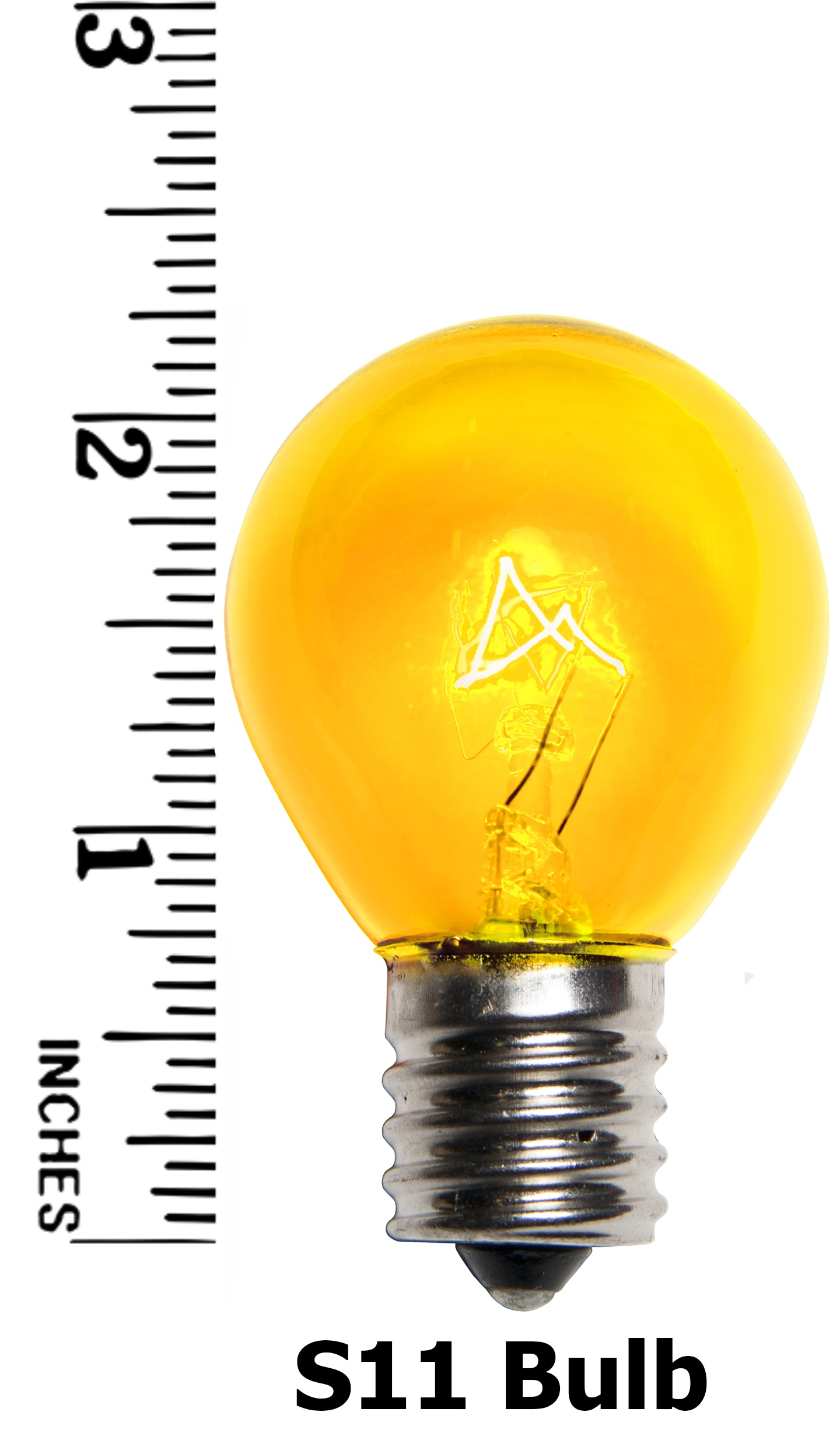 S11 Yellow Bulb Measurement