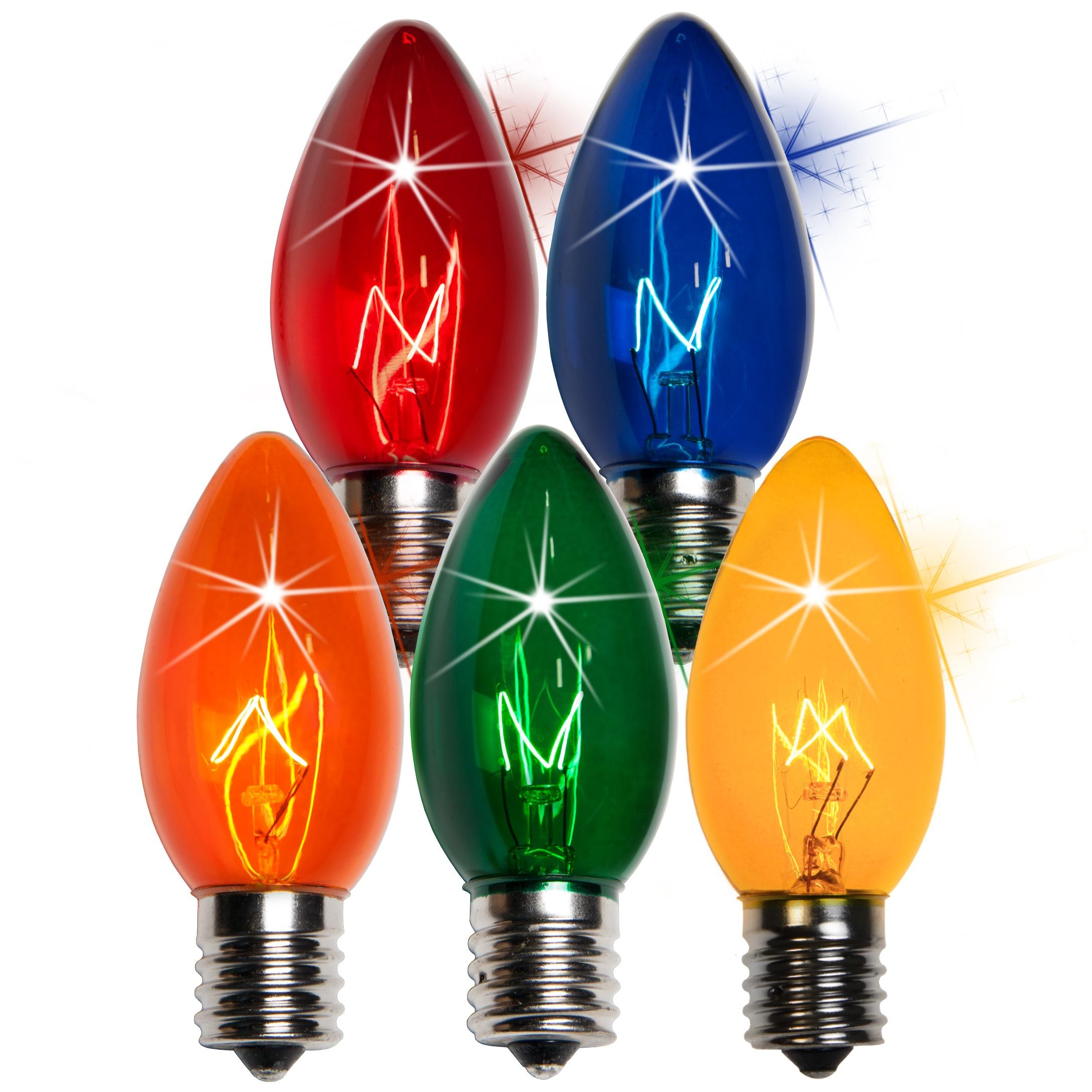 c9 christmas light bulb c9 twinkle multicolor christmas light bulbs. Black Bedroom Furniture Sets. Home Design Ideas