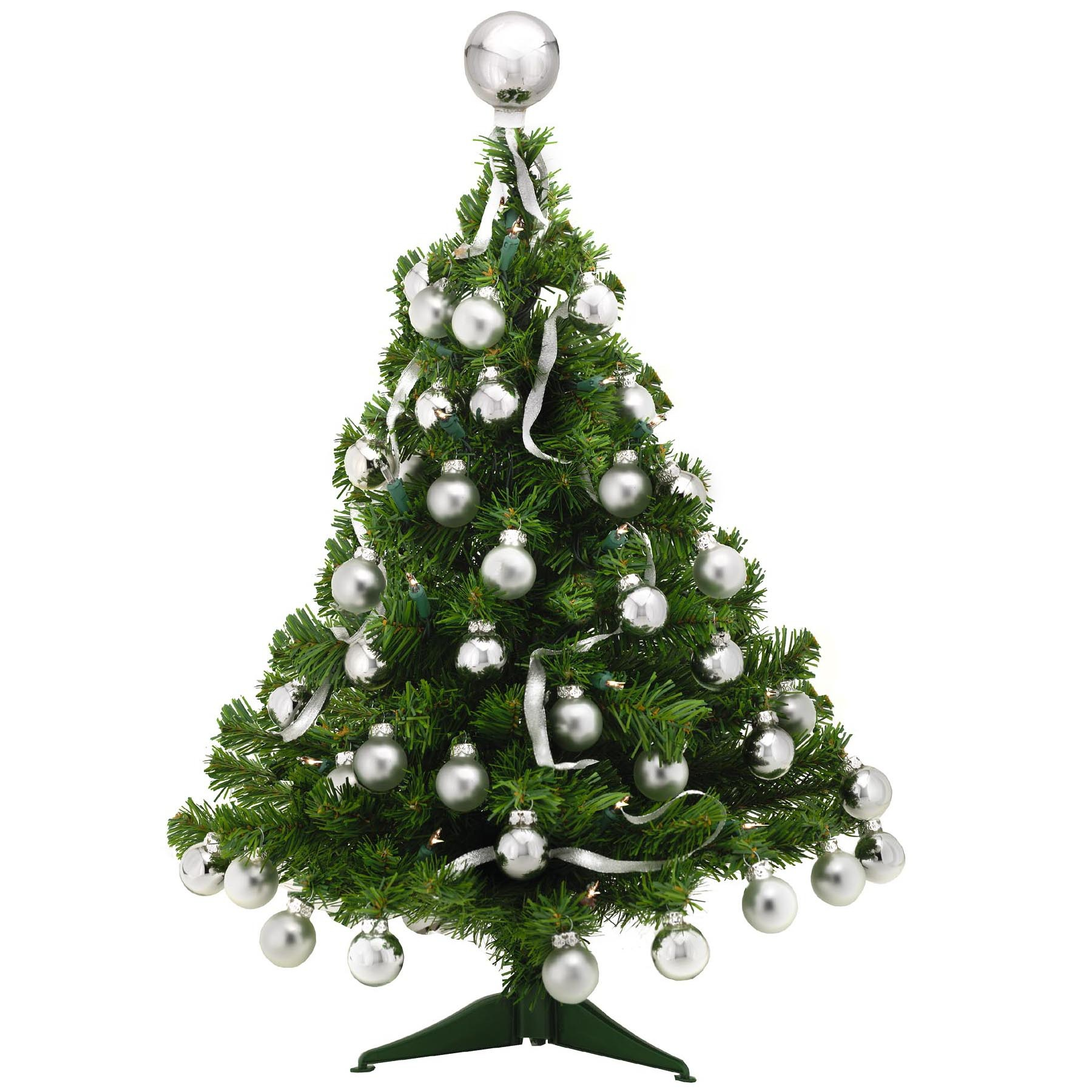 Tabletop and decorative trees for Small christmas decorations