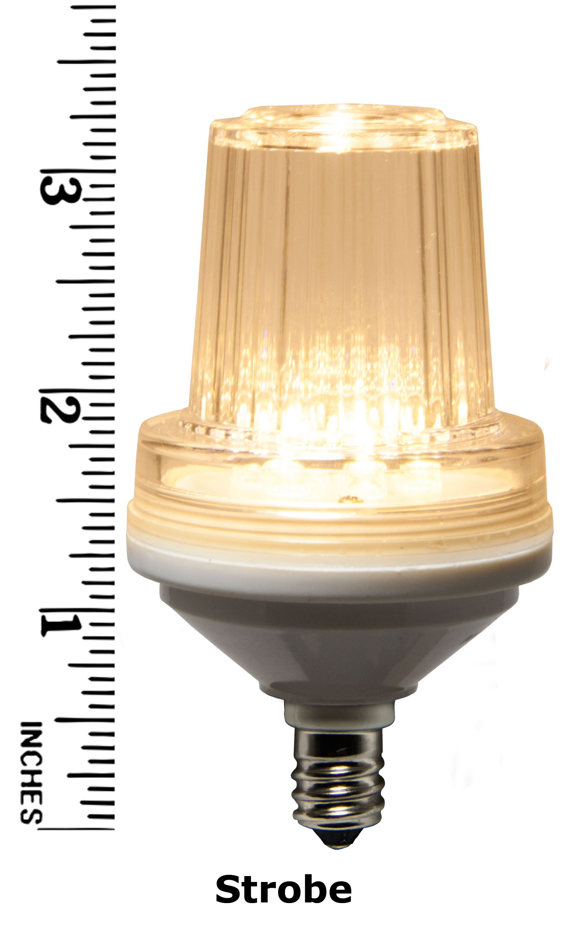 Warm White Strobe Bulb Measurement