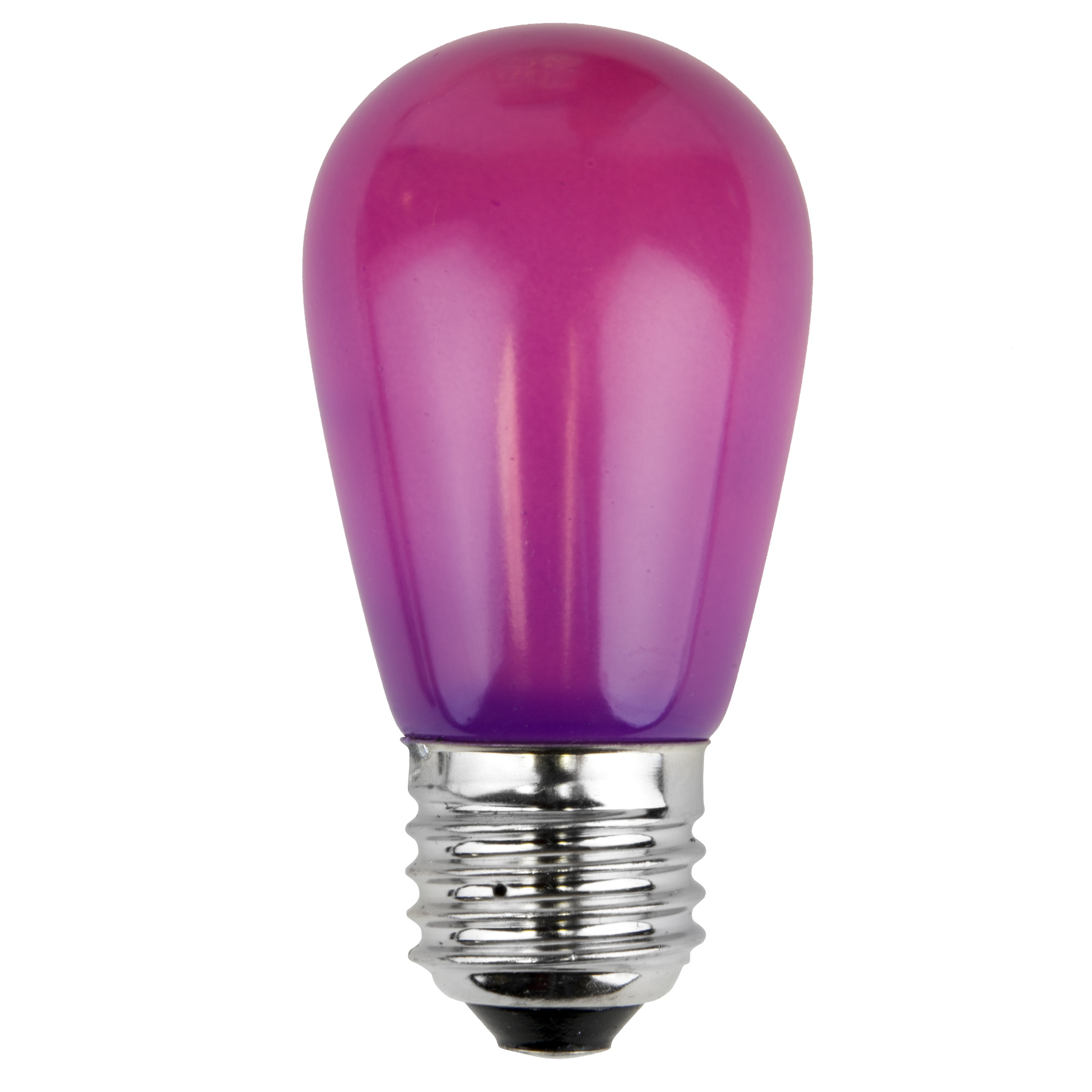 11S14 Opaque Purple Incandescent Sign Lamp