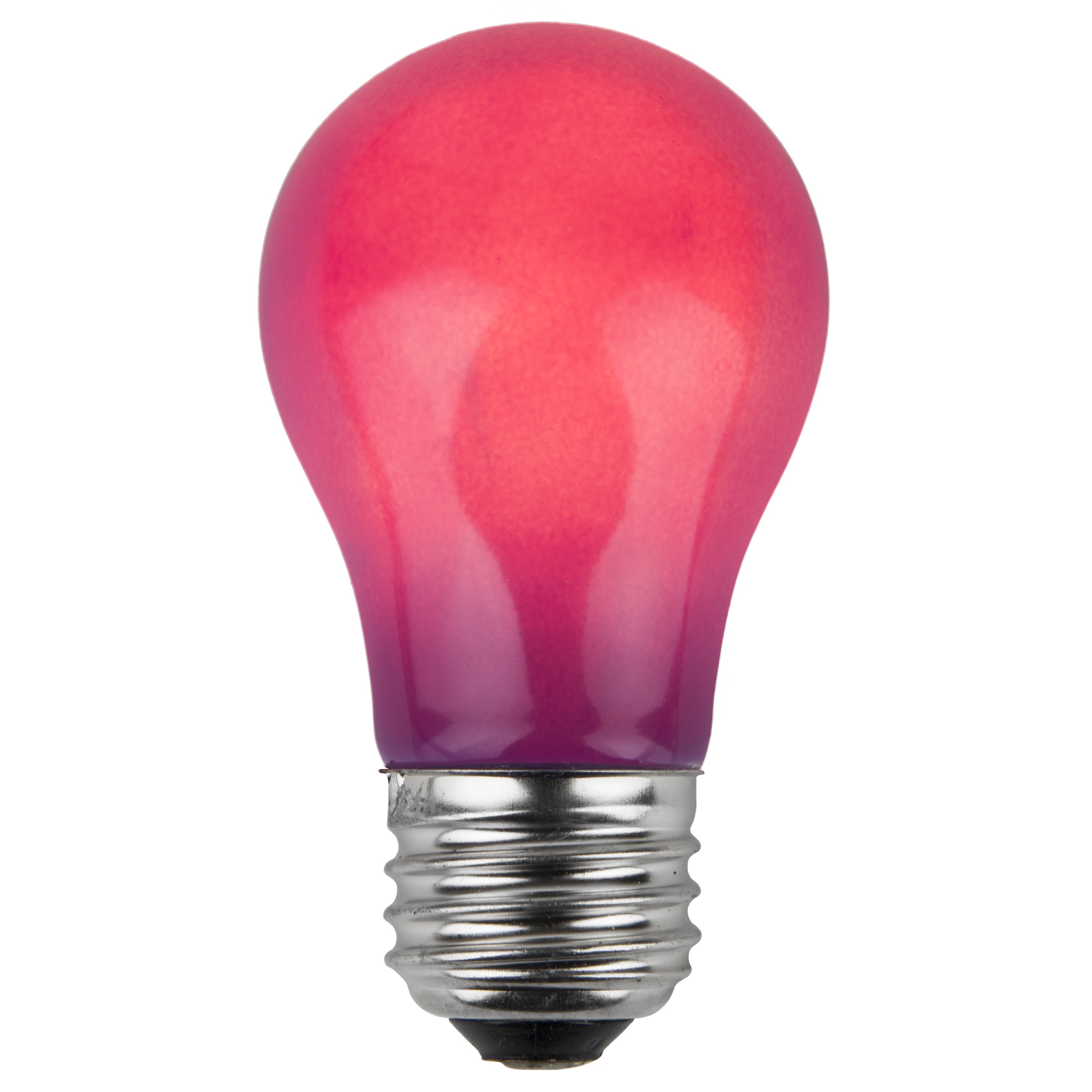A15 Purple Opaque Incandescent Bulb