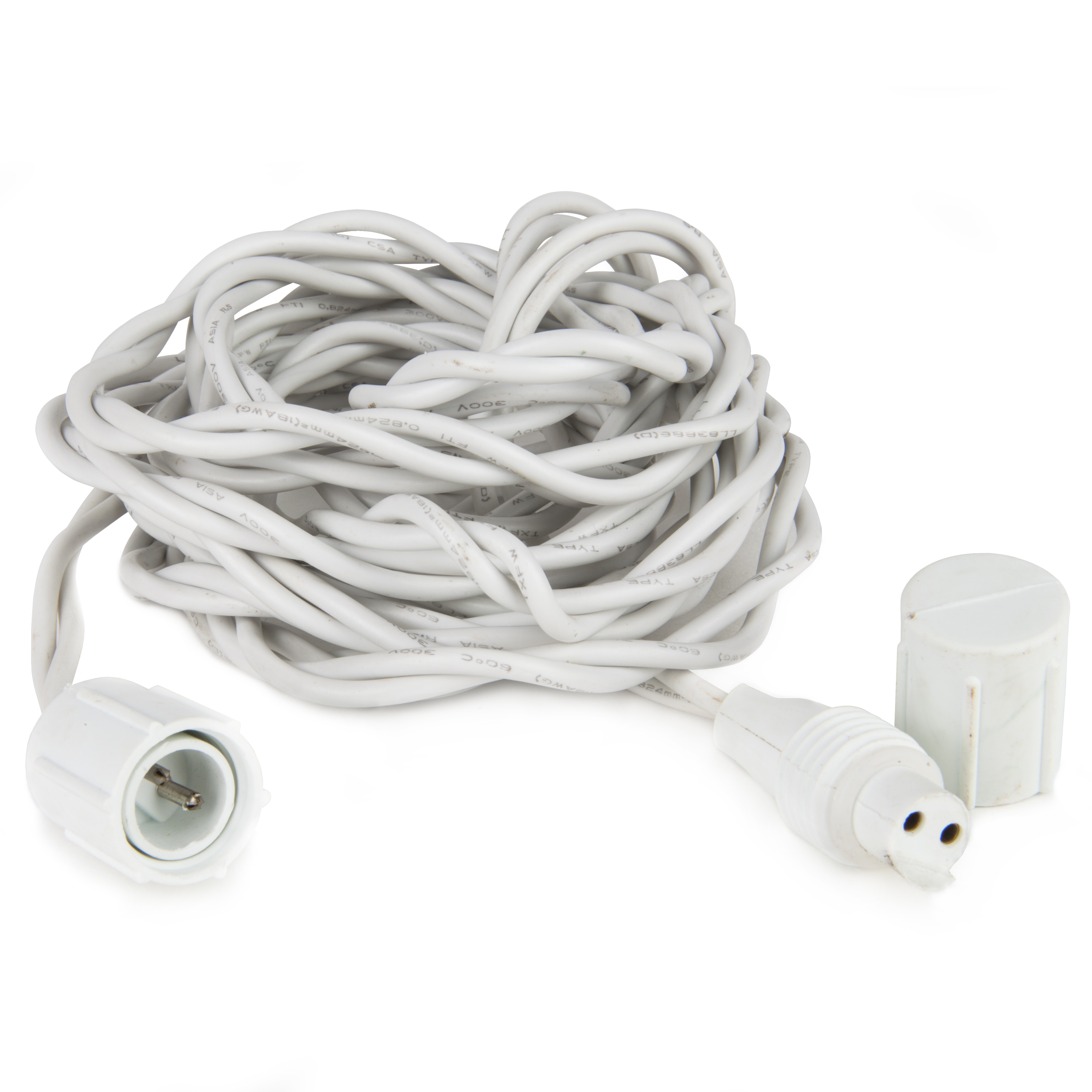 12' White Commercial Spacer Wire