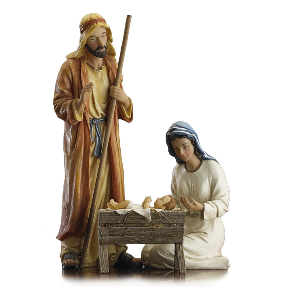 "12"" Deluxe Holy Family Nativity Set"