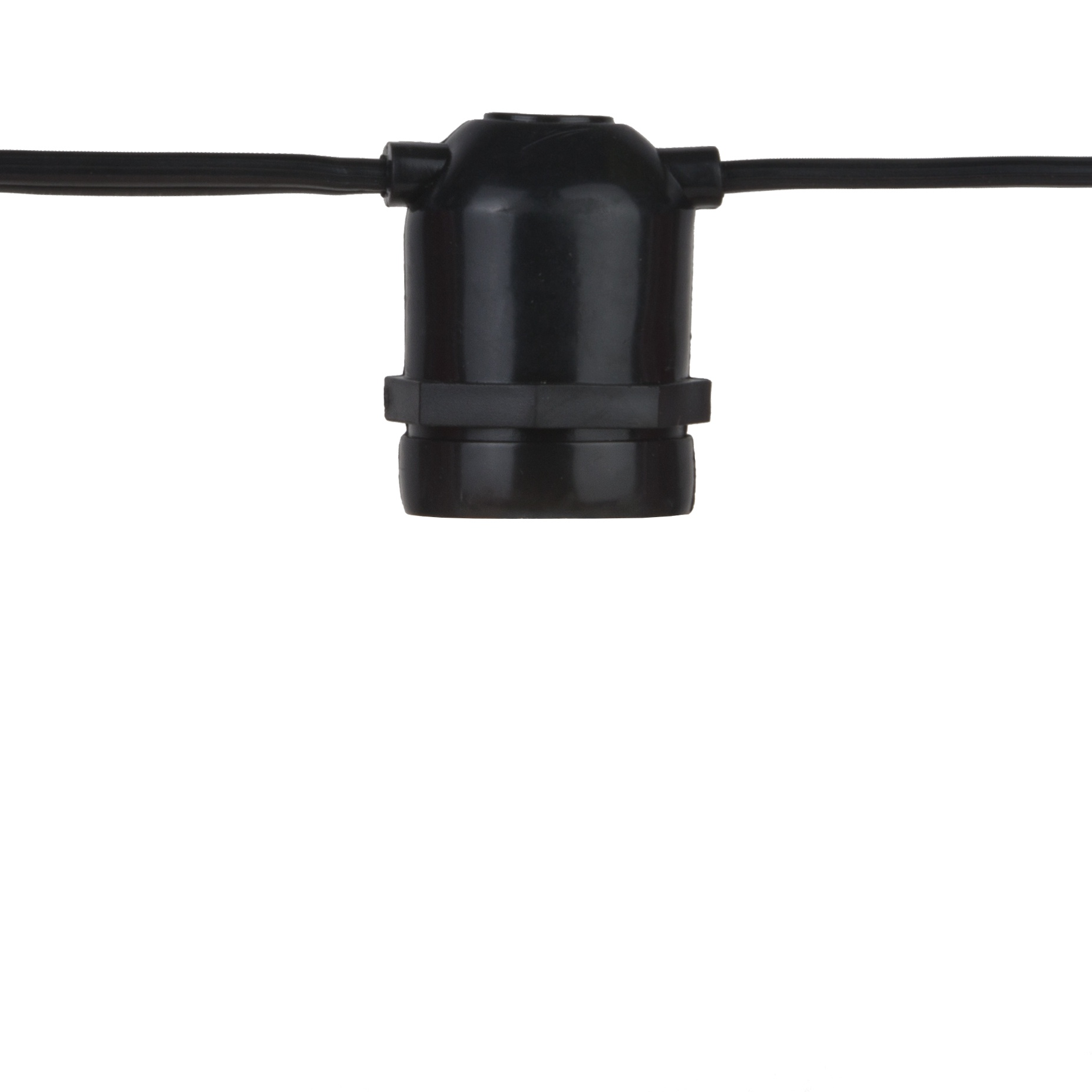 Commercial Grade Patio Light Strings E26 Sockets