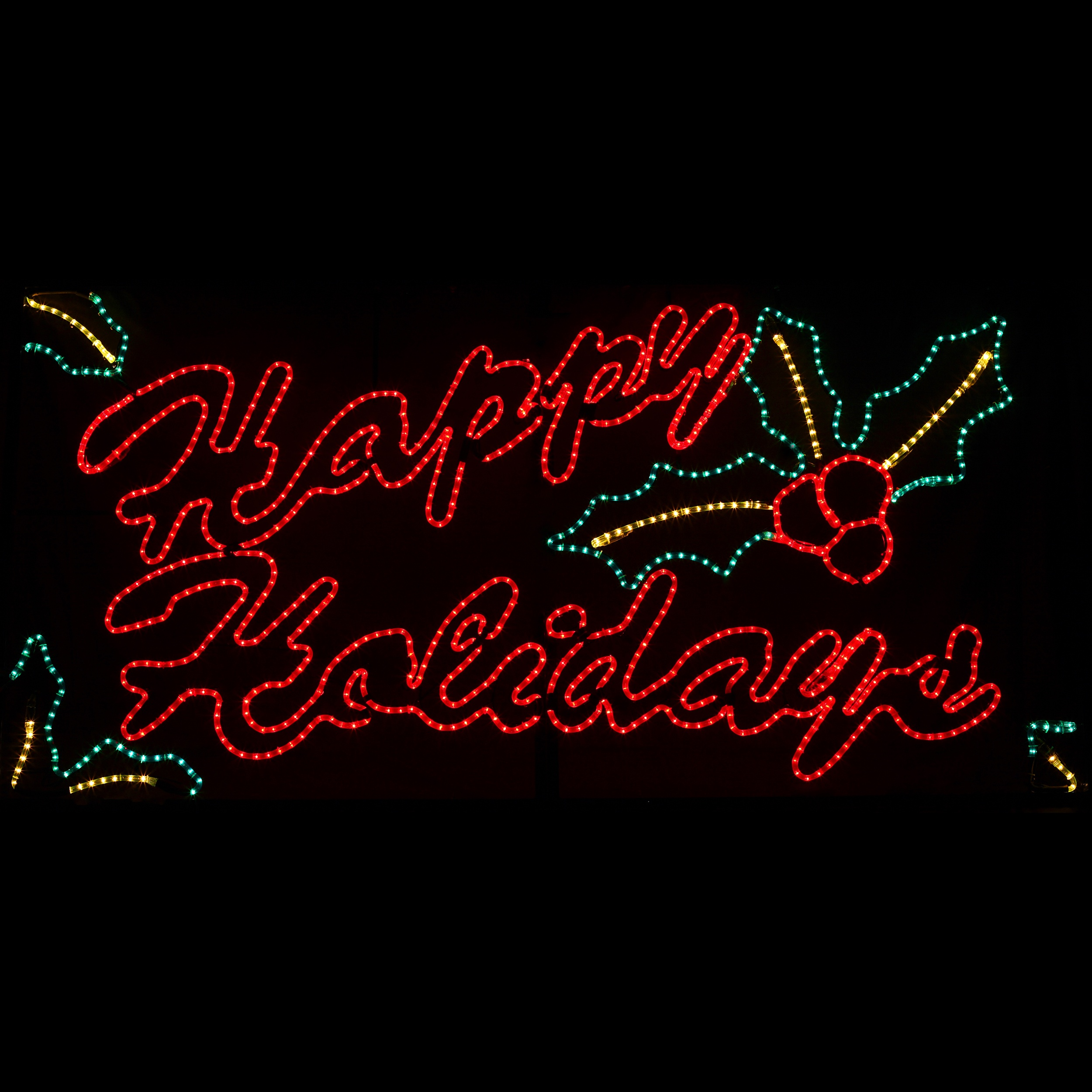 Happy Holidays Motif
