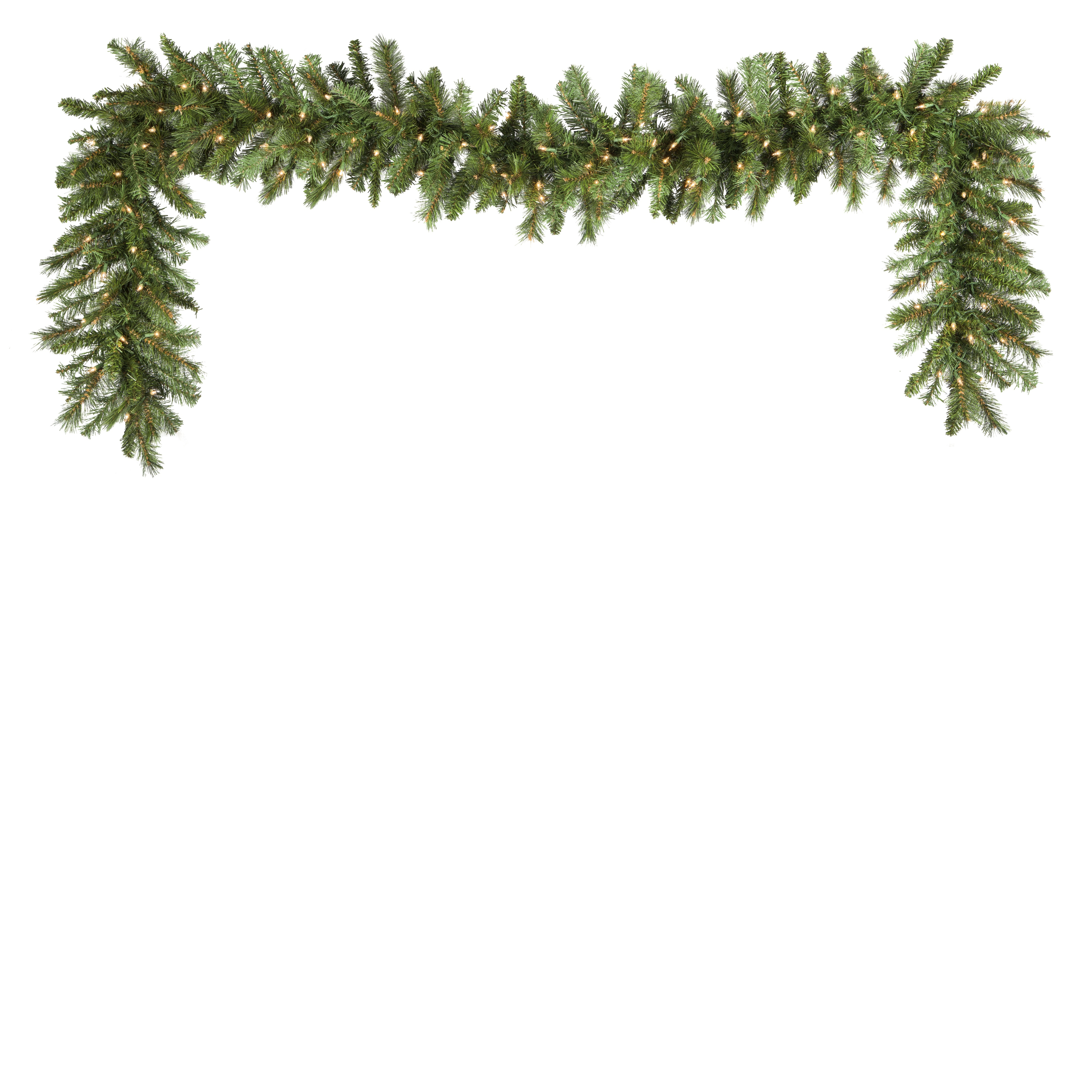 Prelit Brighton Fir Garland