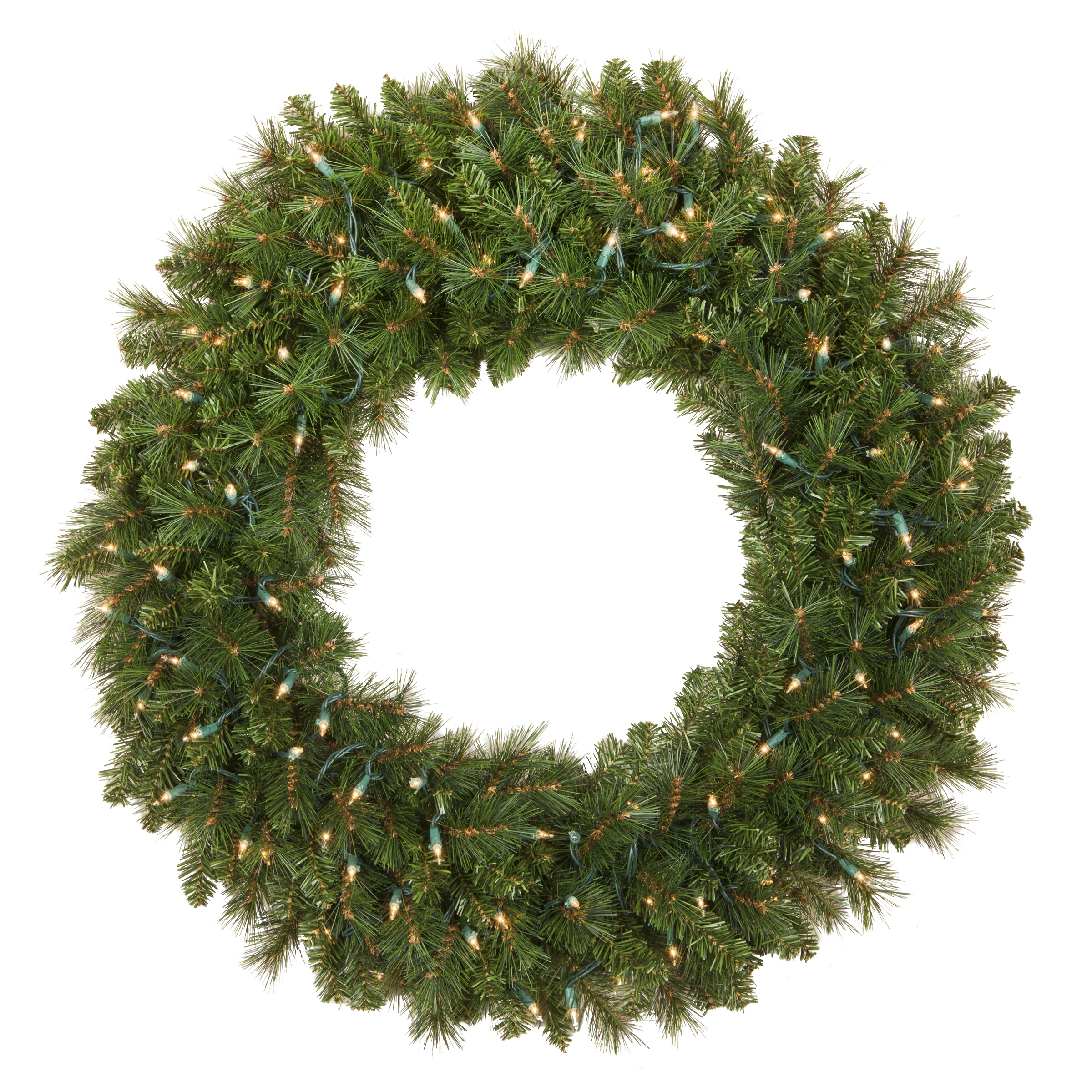 Prelit Brighton Fir Wreath
