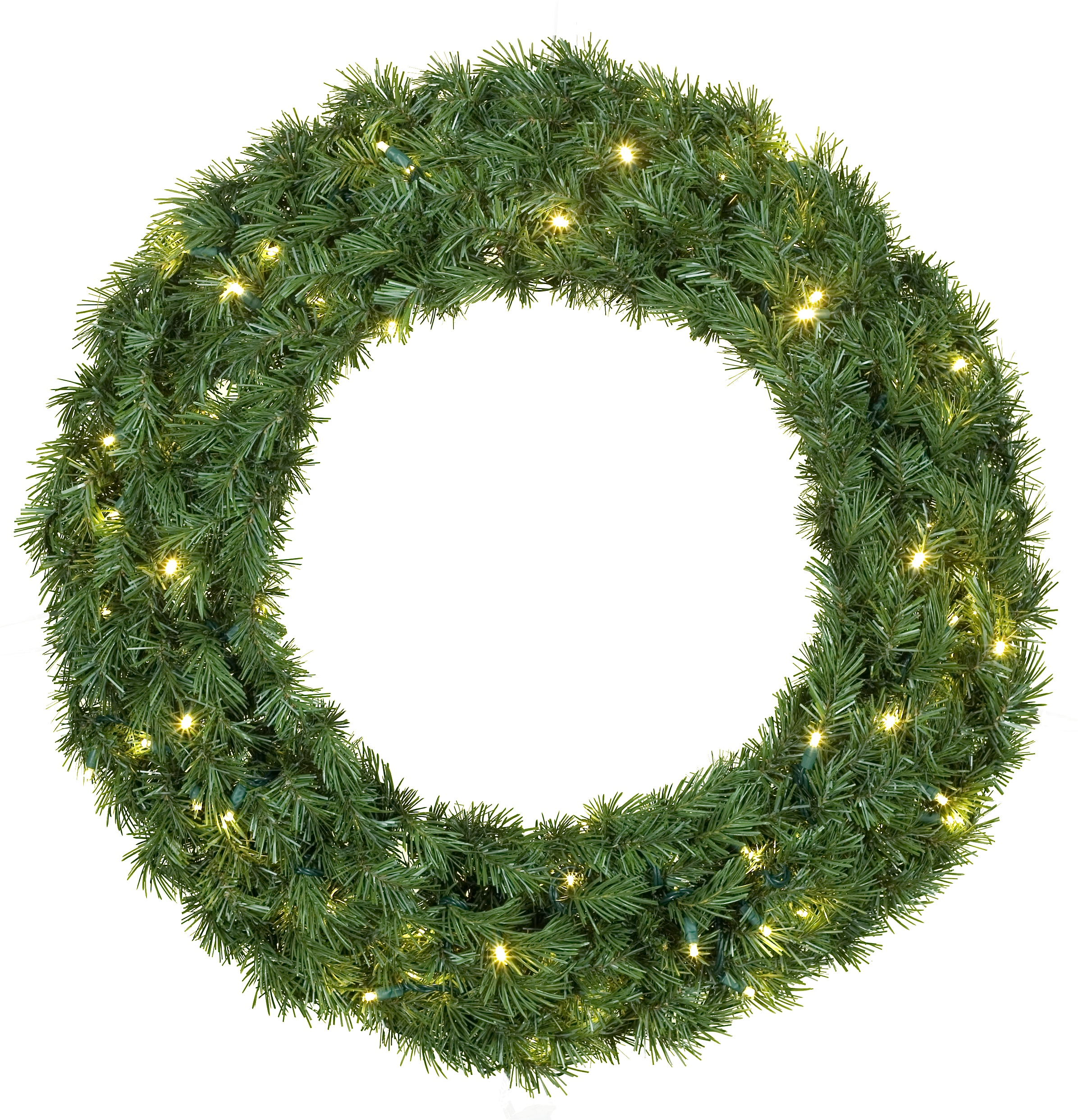 Prelit Balsam Wreath