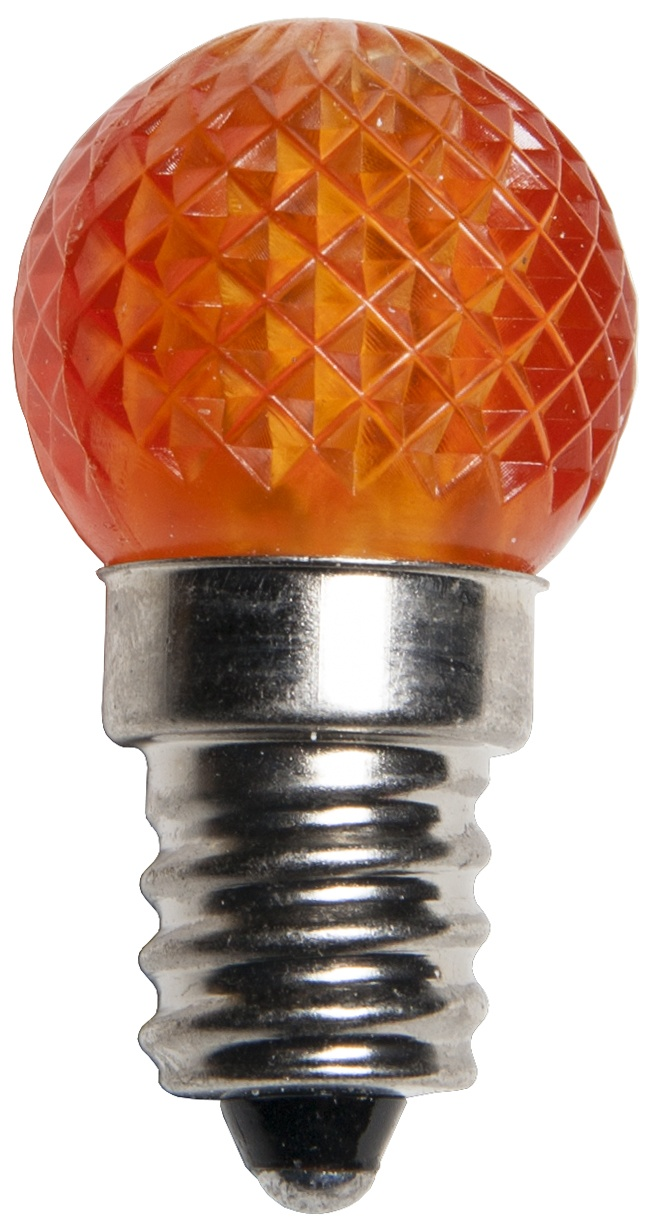 G20 LED Amber Christmas Light Bulbs