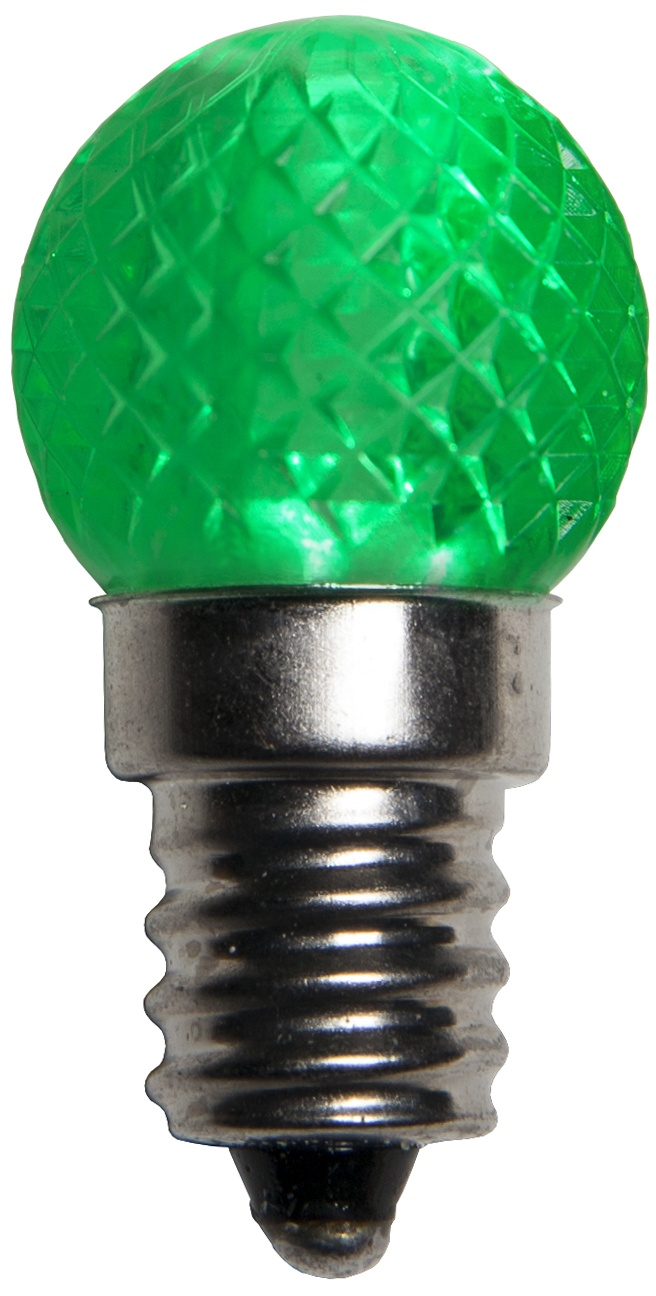 G20 LED Green Light Bulb