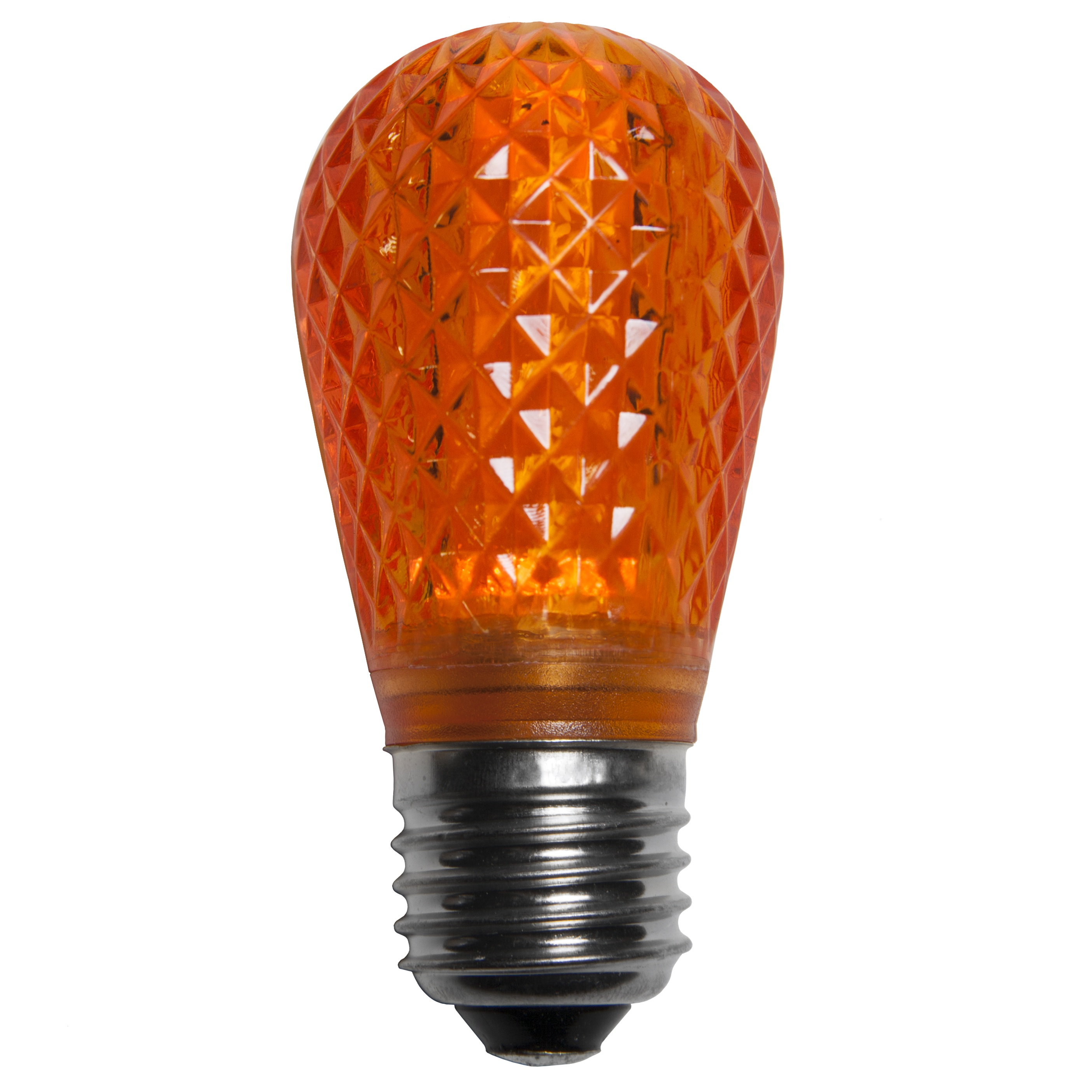 S14 Amber LED Light Bulbs