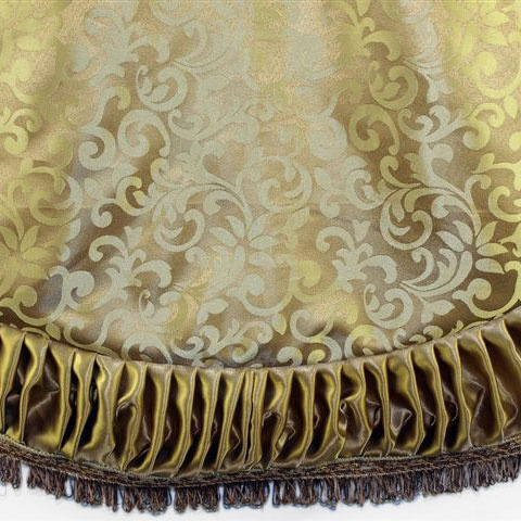 Gold Jacquard Tree Skirt