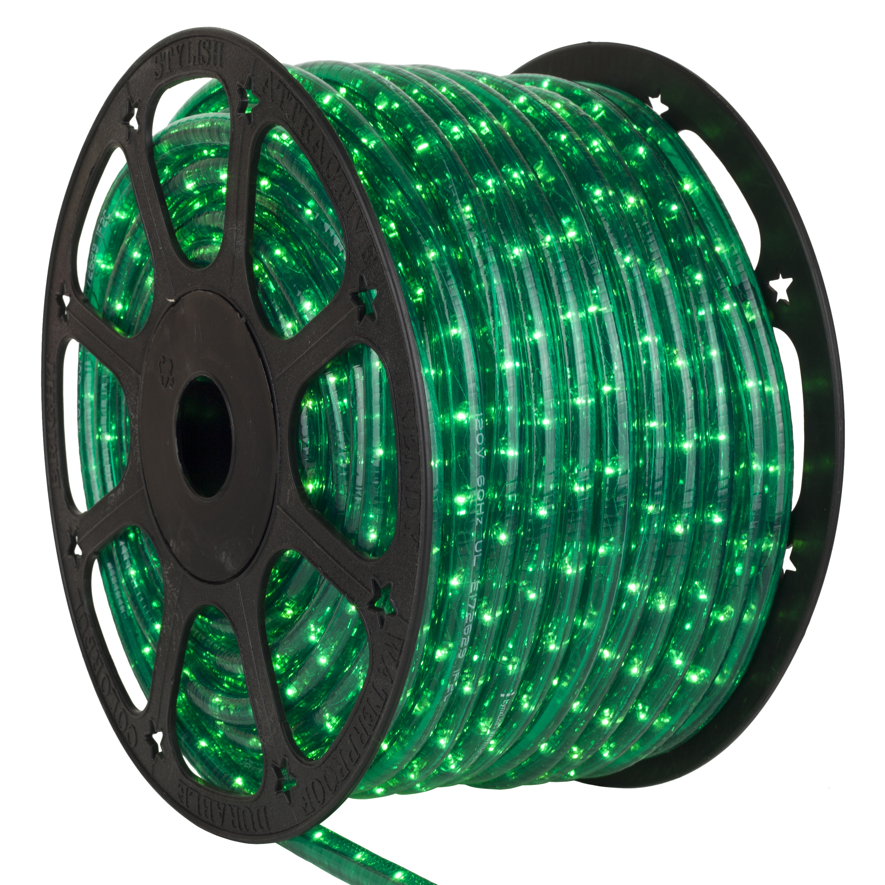 Green Rope Light Spool
