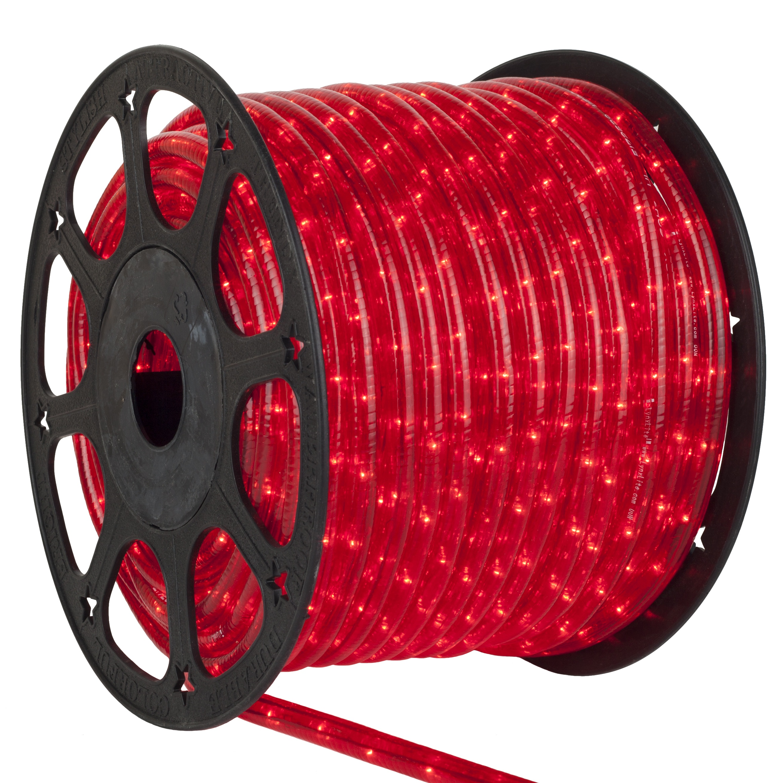 Christmas Red Rope Light Spool